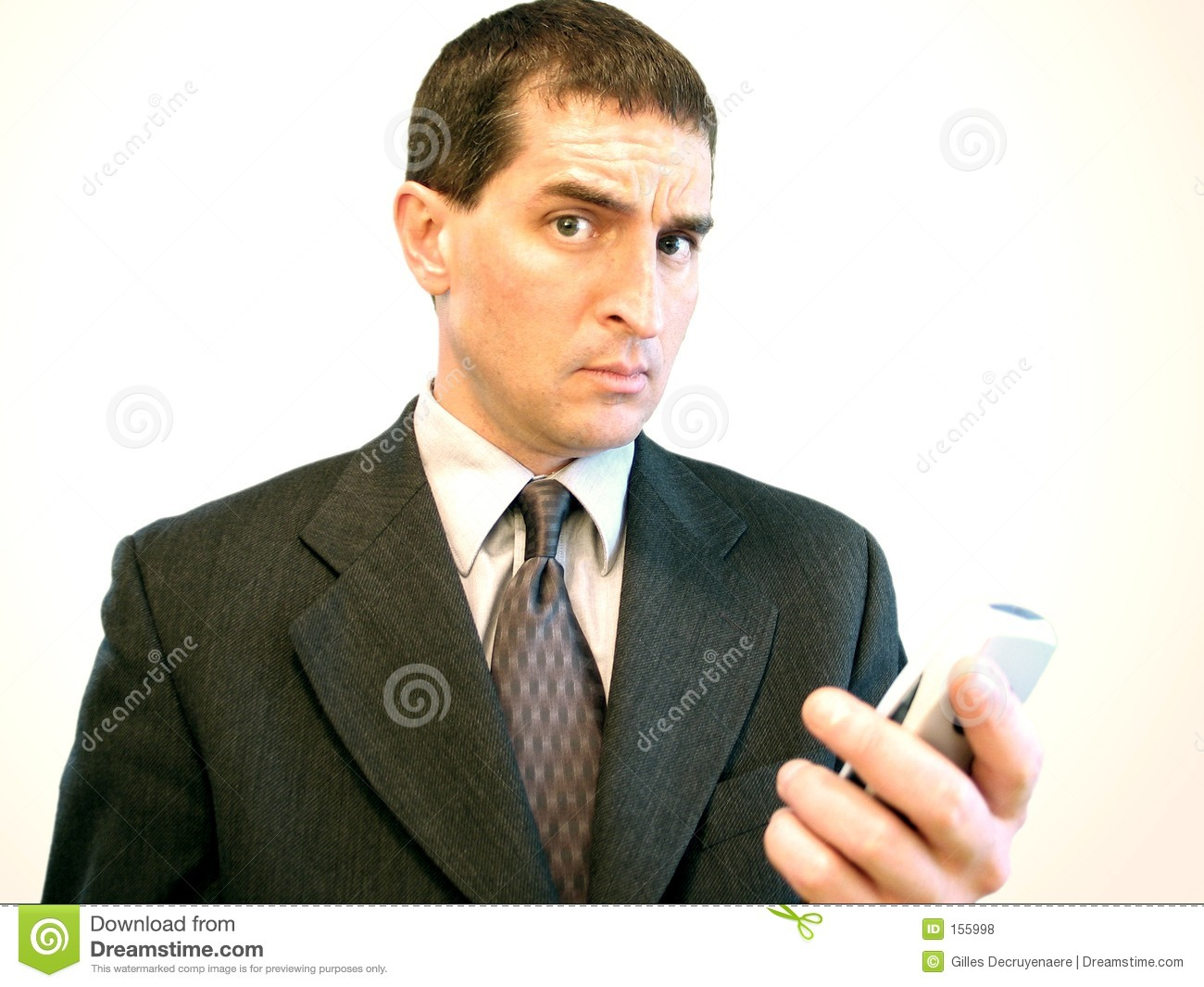 Cell Phone Businessman