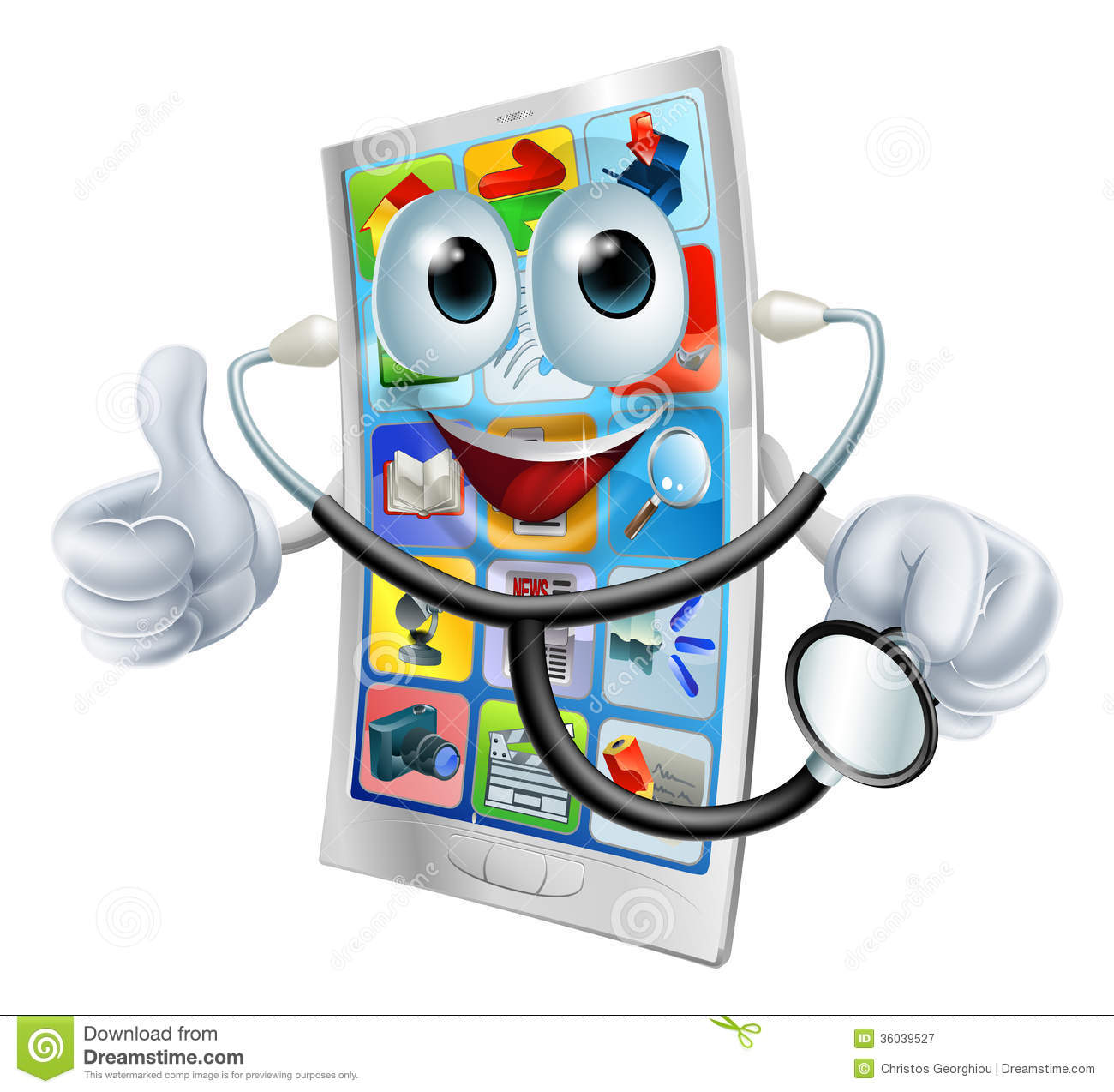 cell phone man holding a stethoscope royalty free stock clipart ekg strips clipart ekg strips