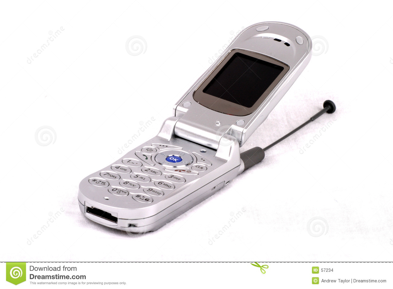 Cell phone open