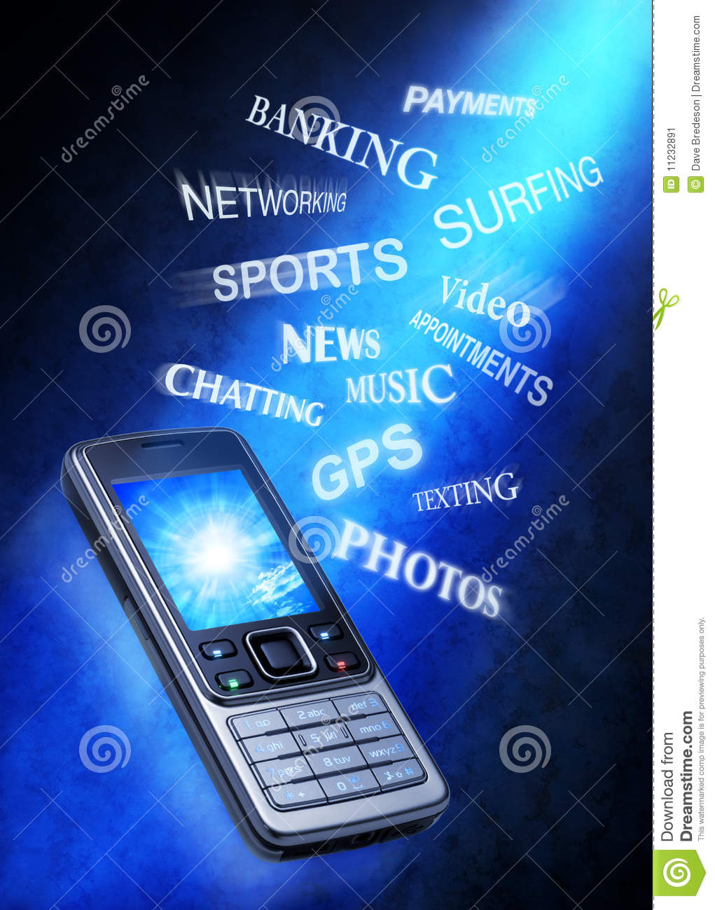 Cell phone technology uses stock image image 11232891 - What to do with used cell phones five practical solutions ...