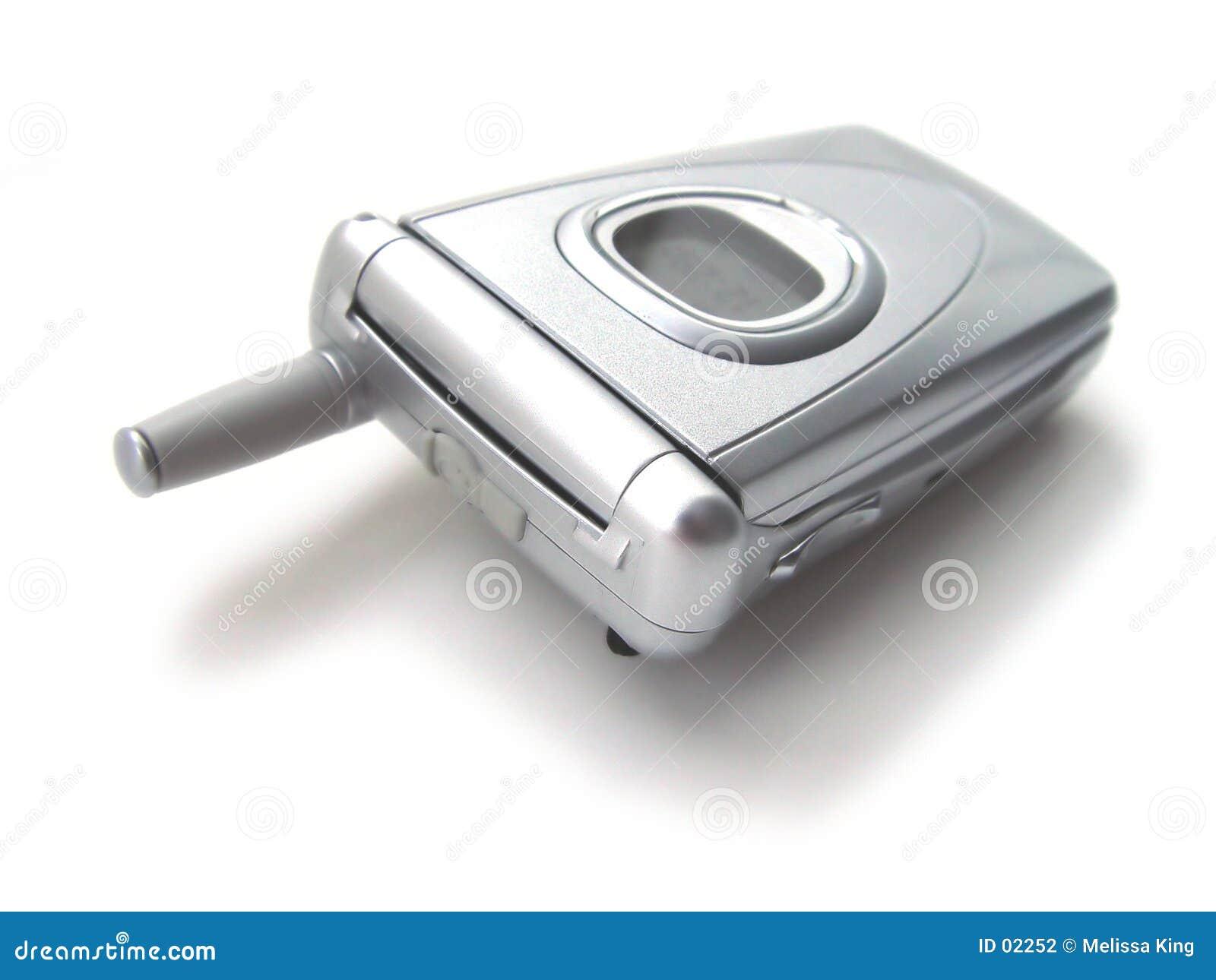Cell- stängd telefon