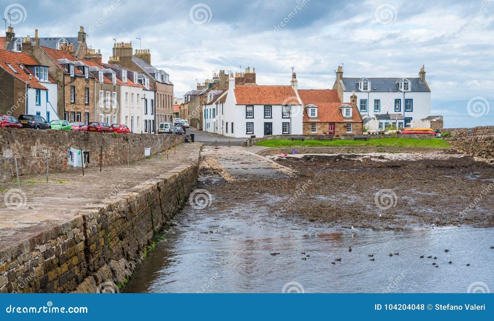 Cellardyke, dorp in het Oosten Neuk van Fife, Schotland