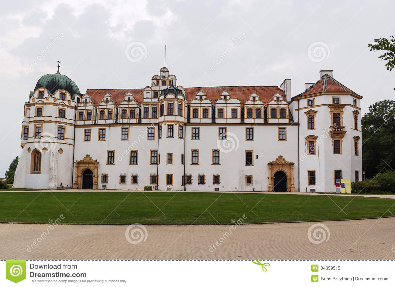 Celle castle germany stock image image of exterior for The hanover house