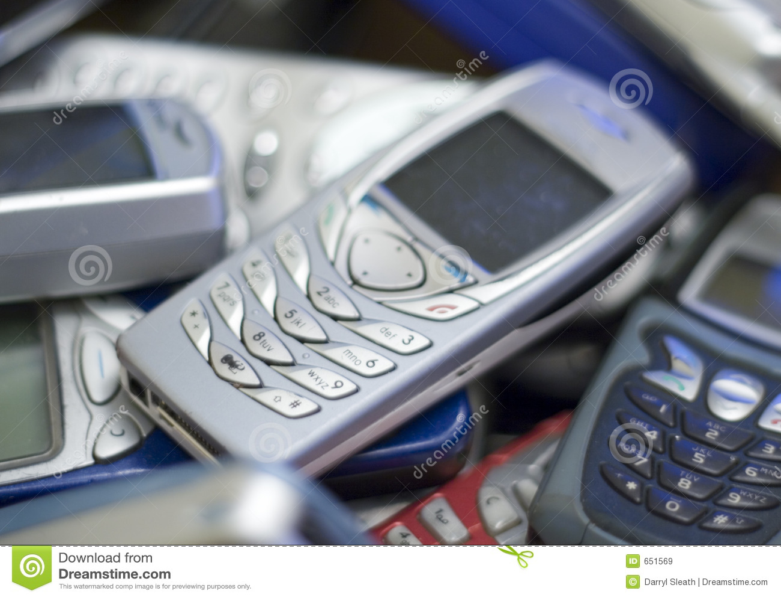 Cellen andra phone stapelsilver