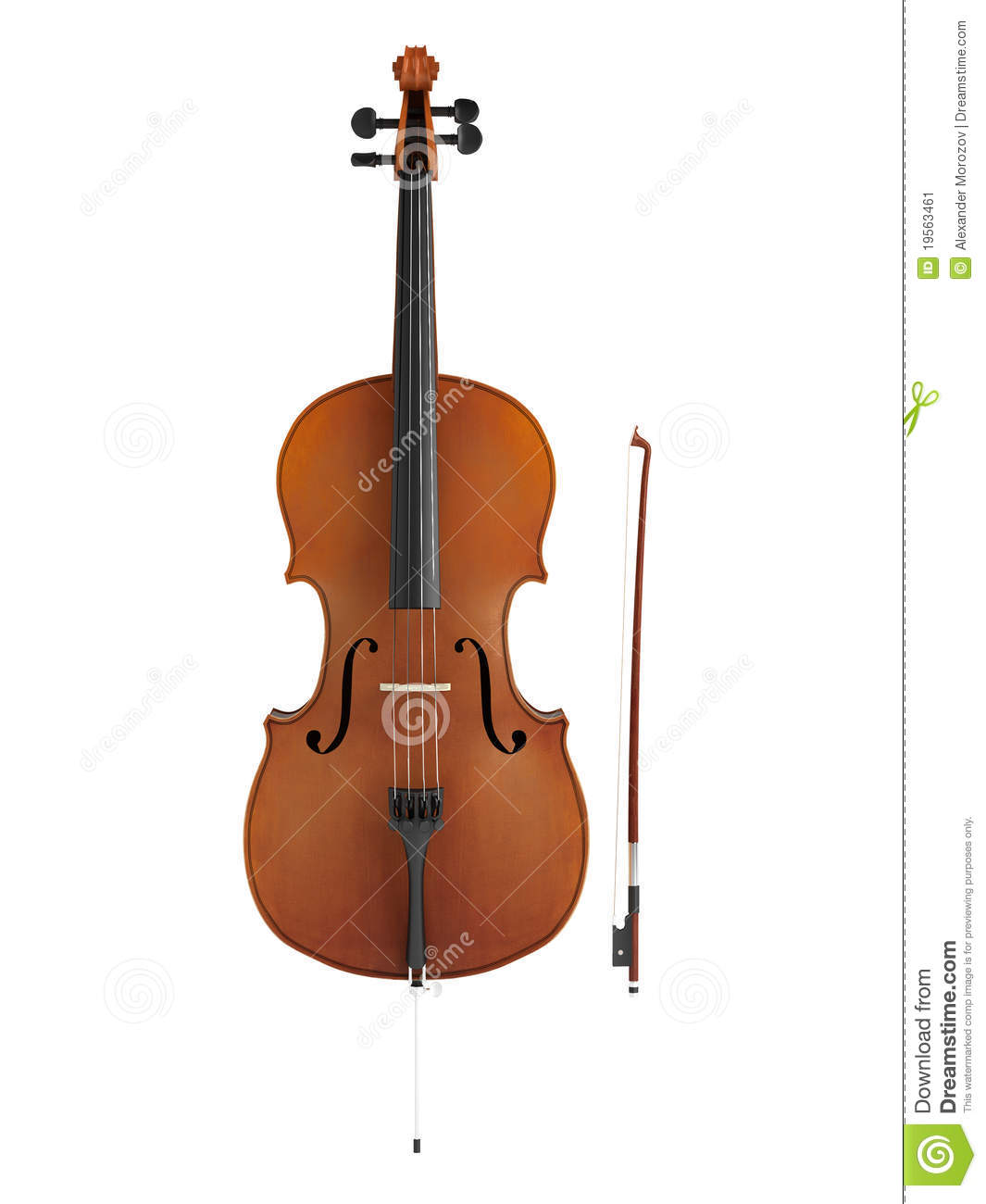 Cello Stock Image - Image: 19563461