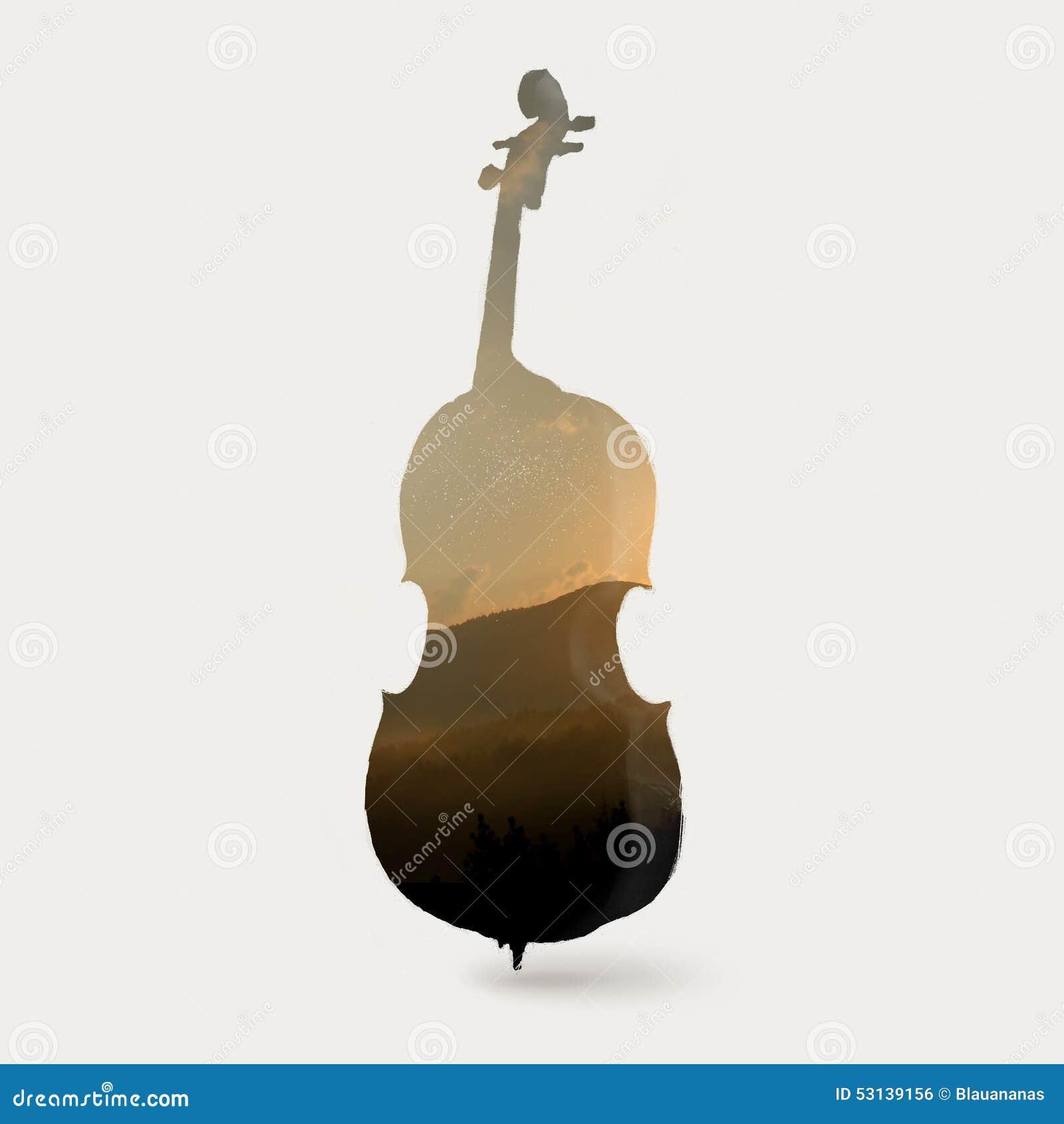 Cello cartoon cello player stock photography image 32561422 - Cello Silhouette Royalty Free Stock Image