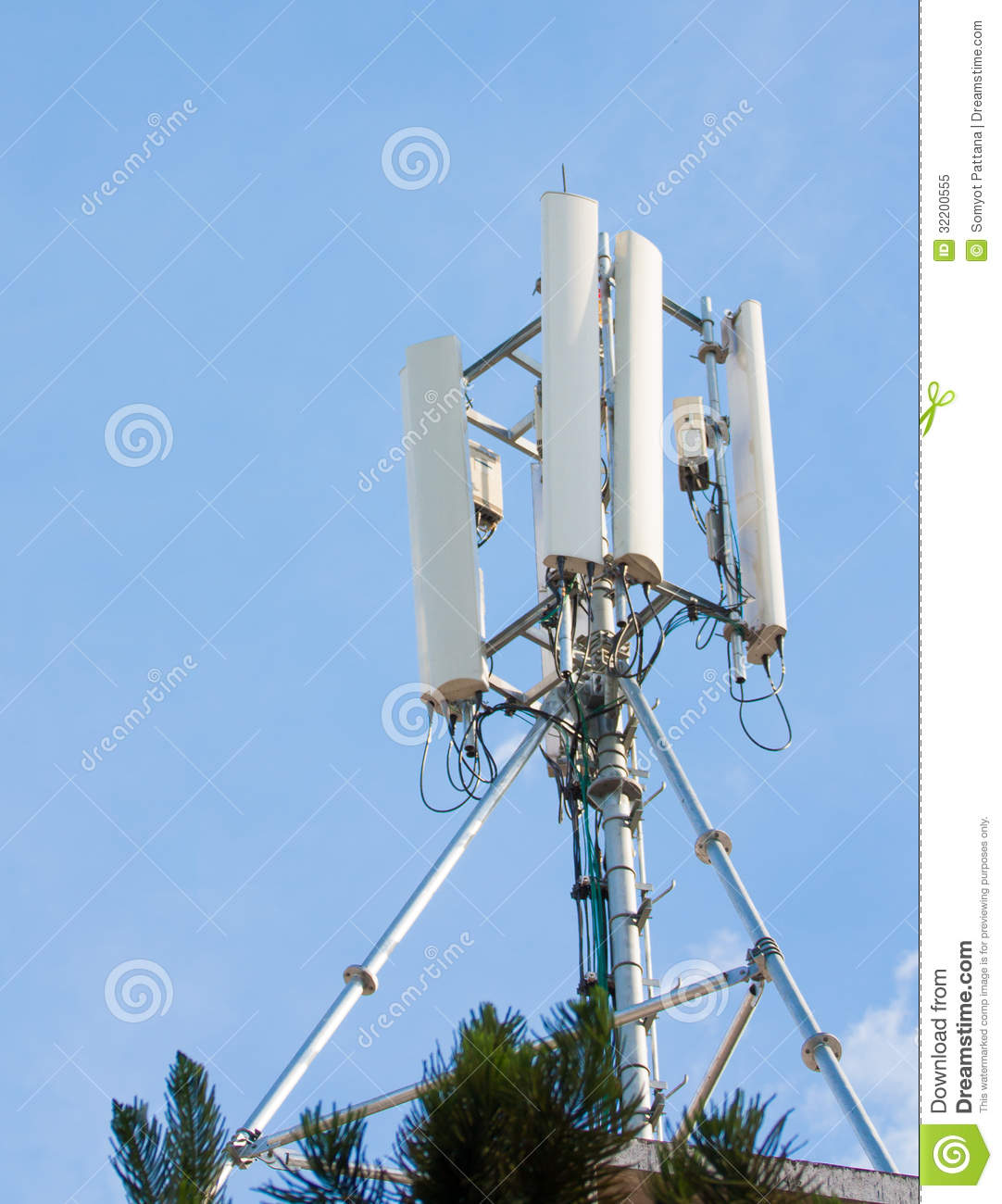 Cellulaire antenne