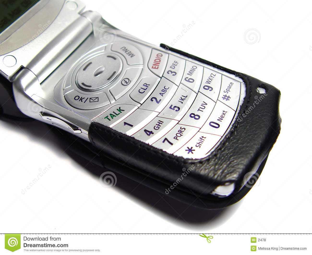 Cellular Phone with Case