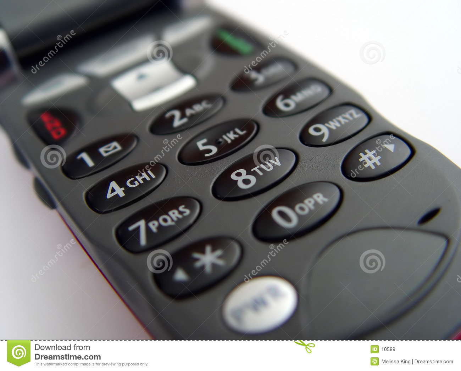 Cellular Phone Keypad