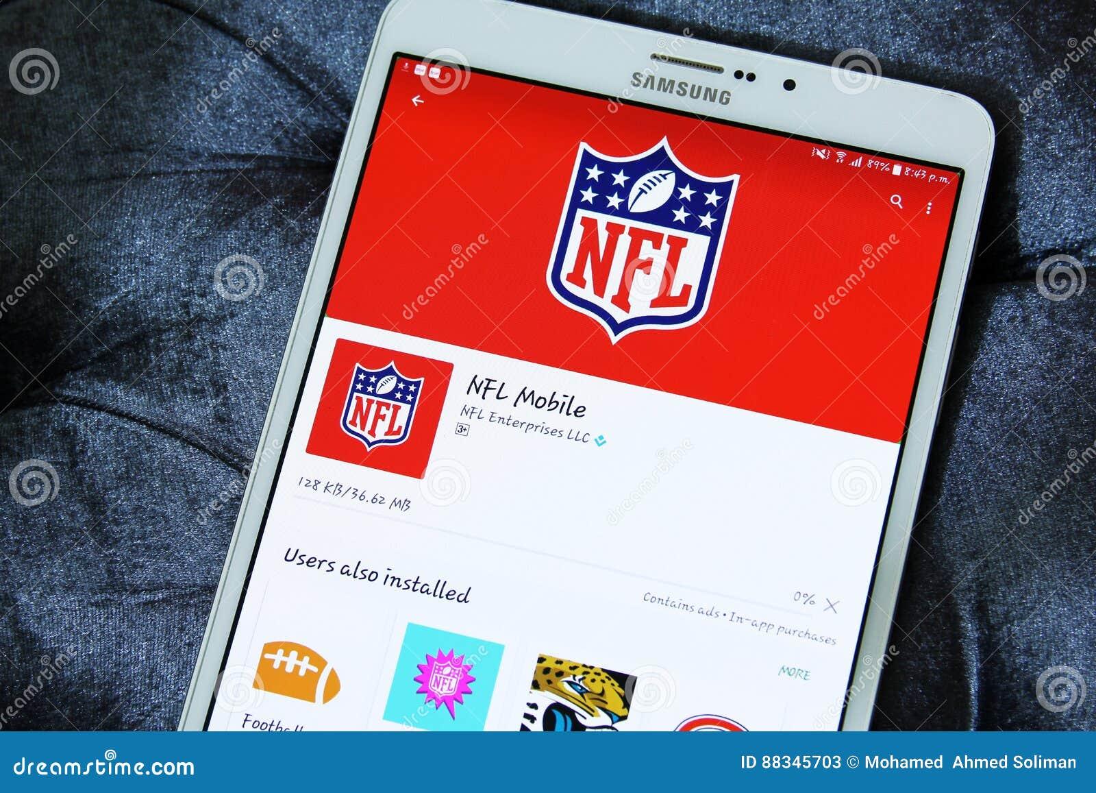 Cellulare app del Nfl