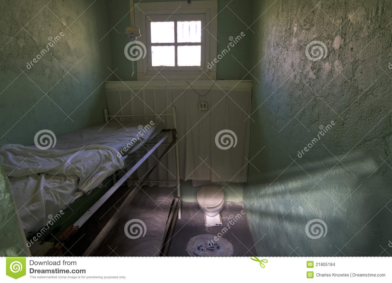 Cellule de prison de la femme historique