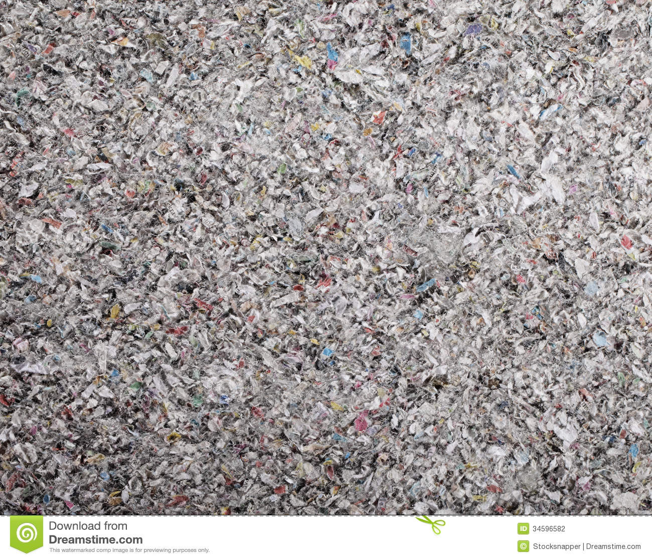 Thermal Batt Insulation : Cellulose insulation stock photography image