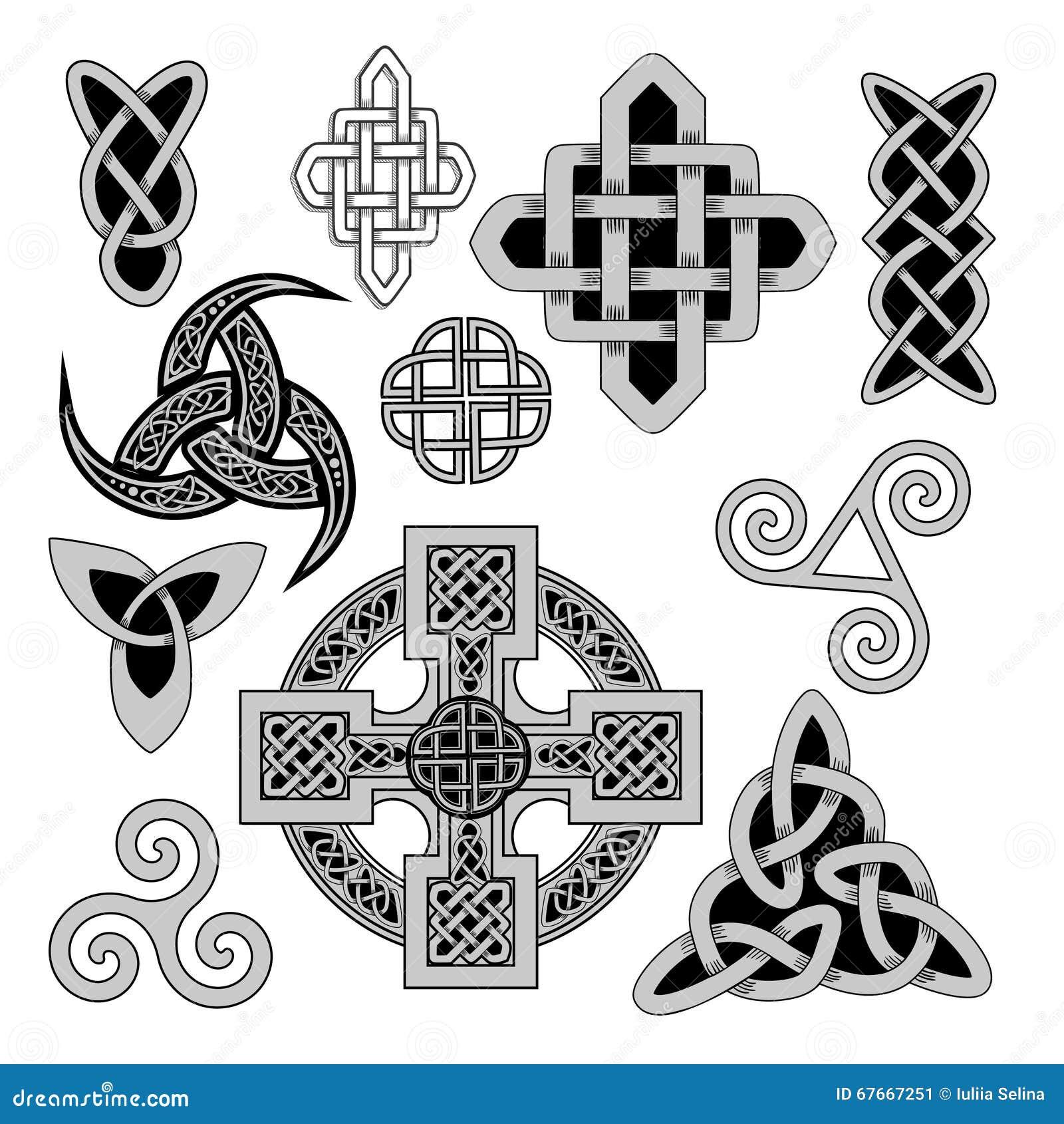 Celtic Folk Ornament Stock Image Image Of Druids Mystical 67667251