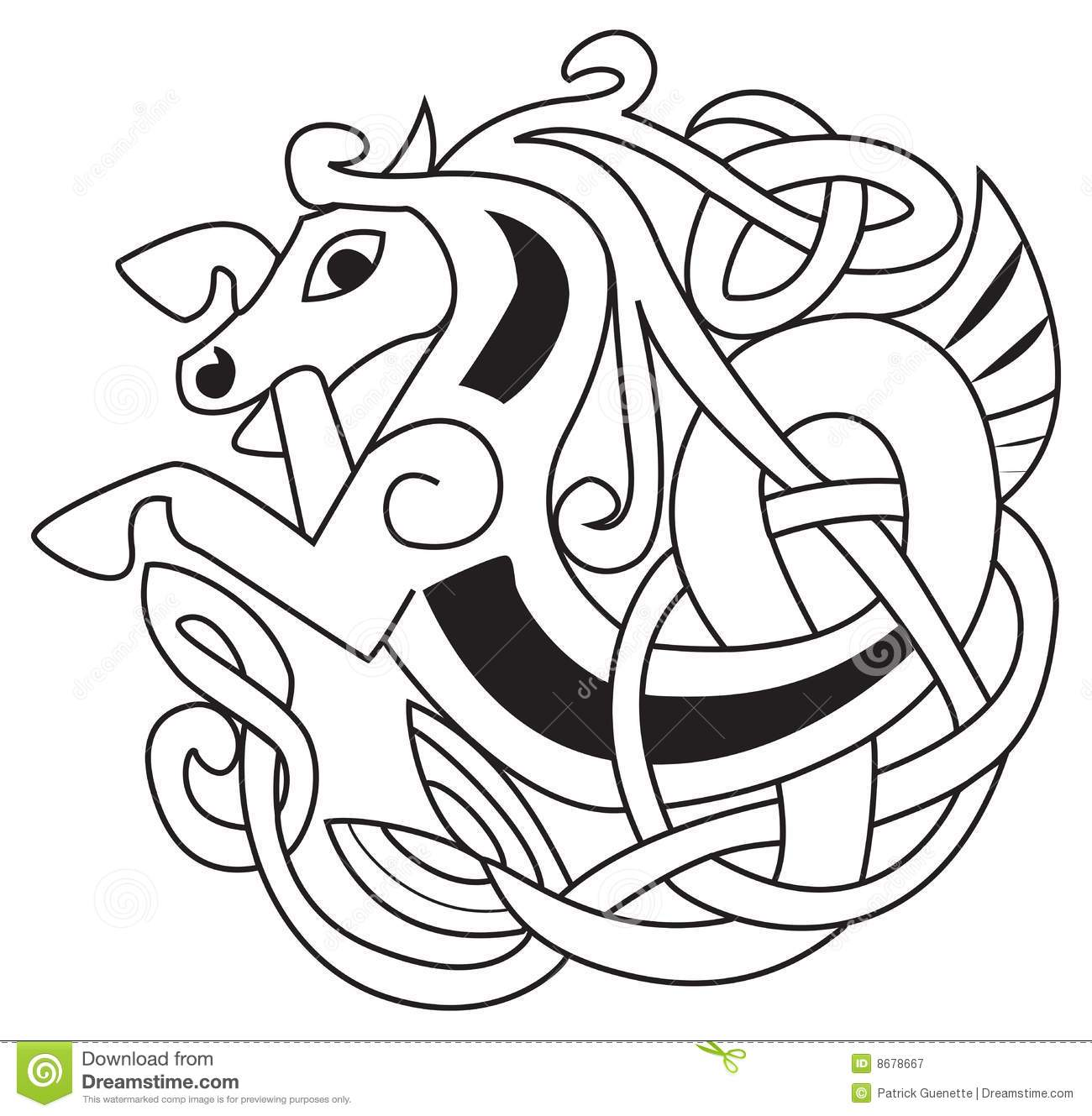 celtic horse royalty free stock photography image 8678667 shamrock vector art free shamrock vector image free