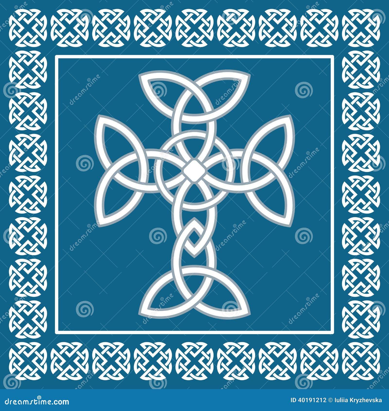 Celtic irish crosssymbolizes eternityvector illustration stock royalty free stock photo buycottarizona Image collections