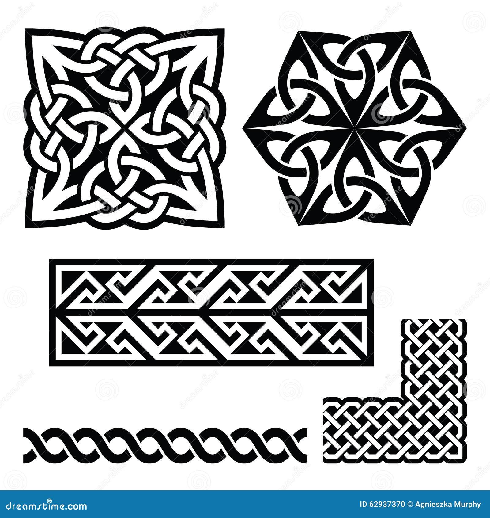 Celtic Irish And Scottish Patterns Knots Braids Key