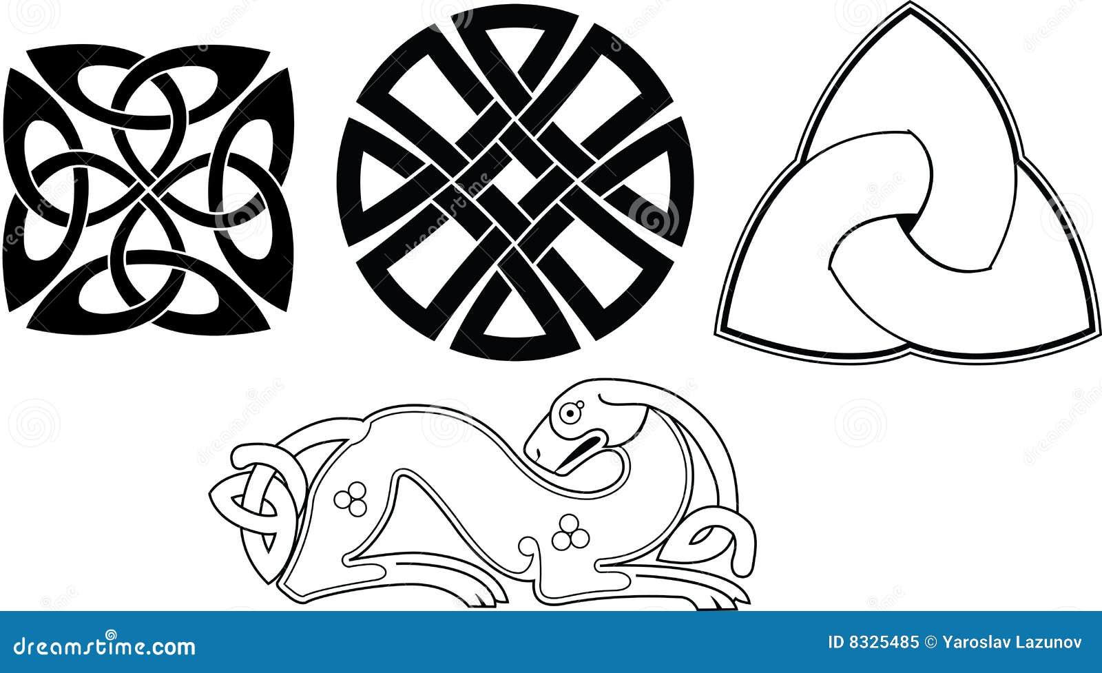 Celtic knot stock vector  Illustration of magic, pattern