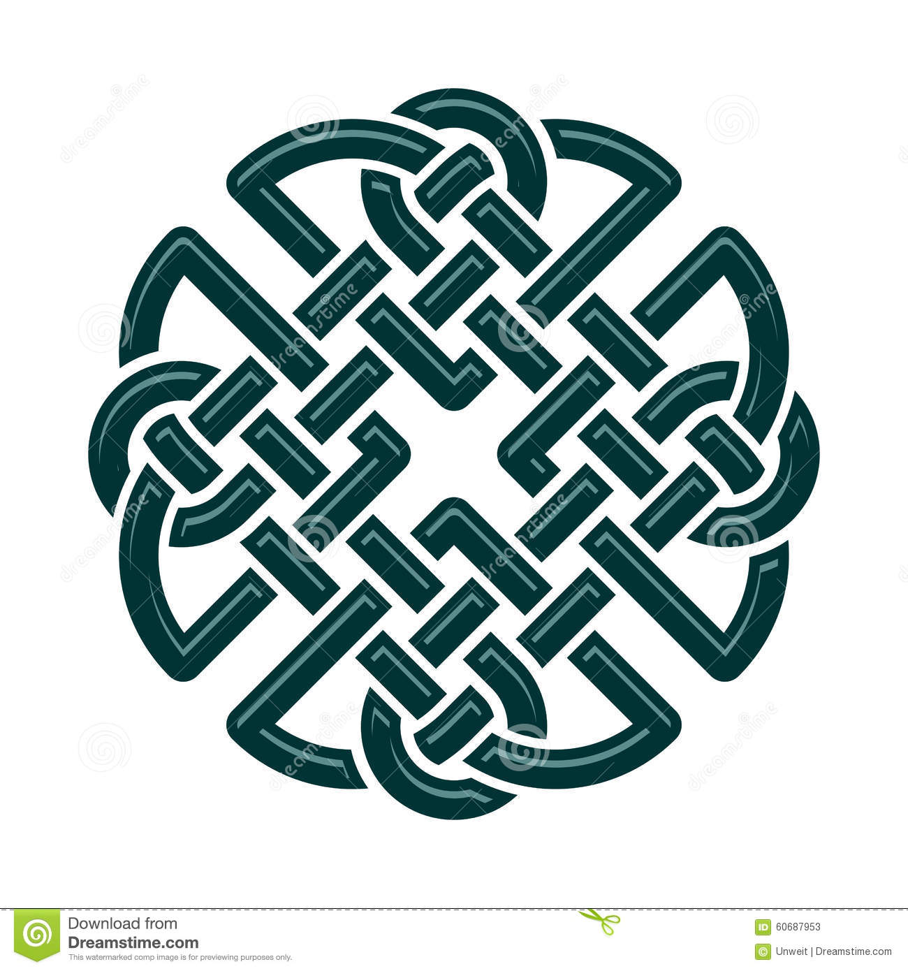 Celtic Knot Stock Illustration Illustration Of Circle 60687953