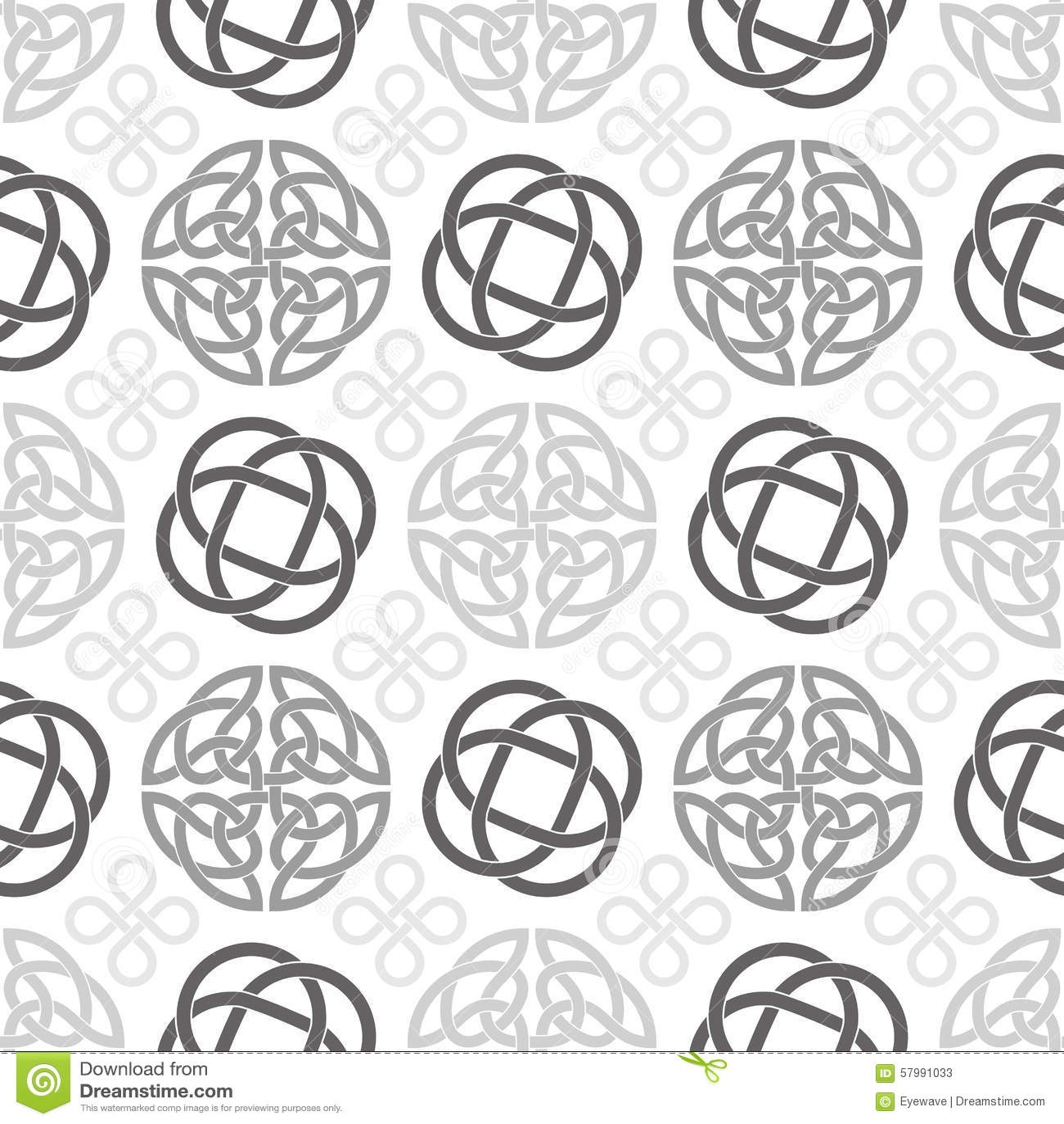 Celtic Knots Seamless Wallpaper Pattern Stock Vector ...
