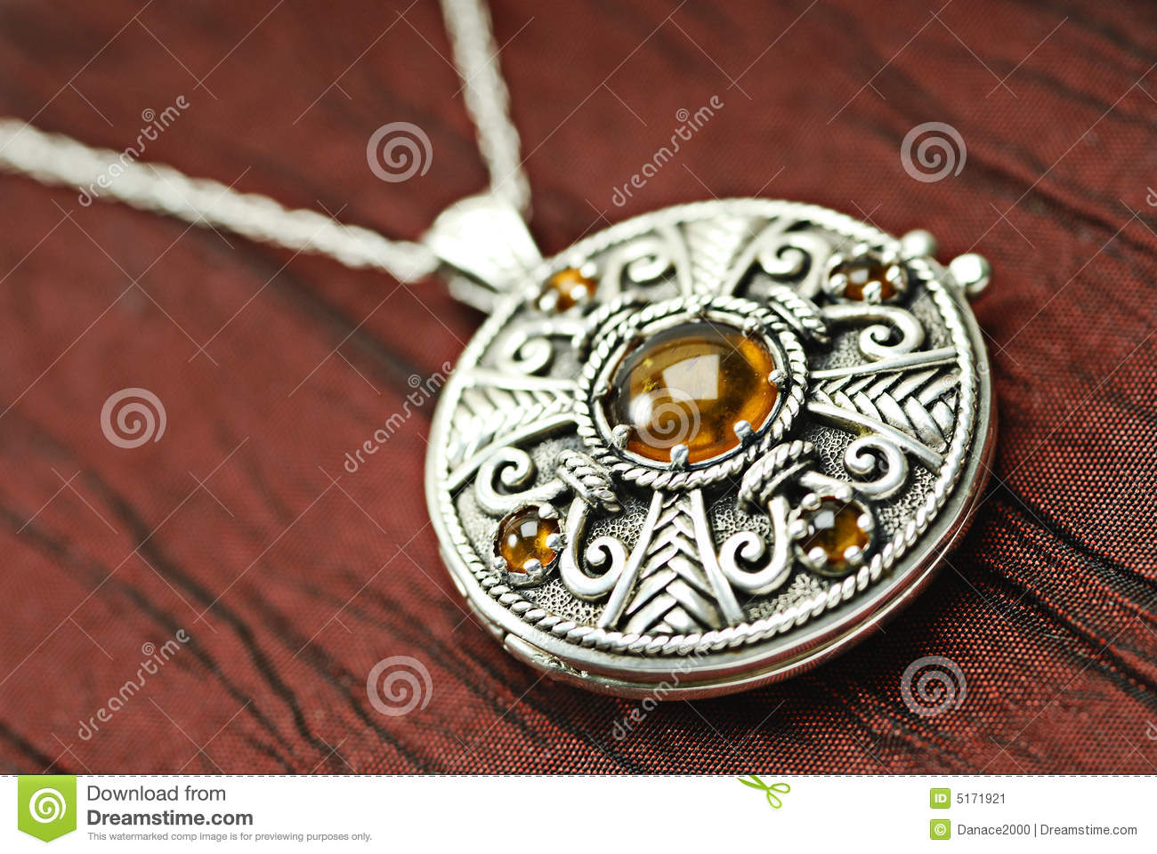 Celtic locket