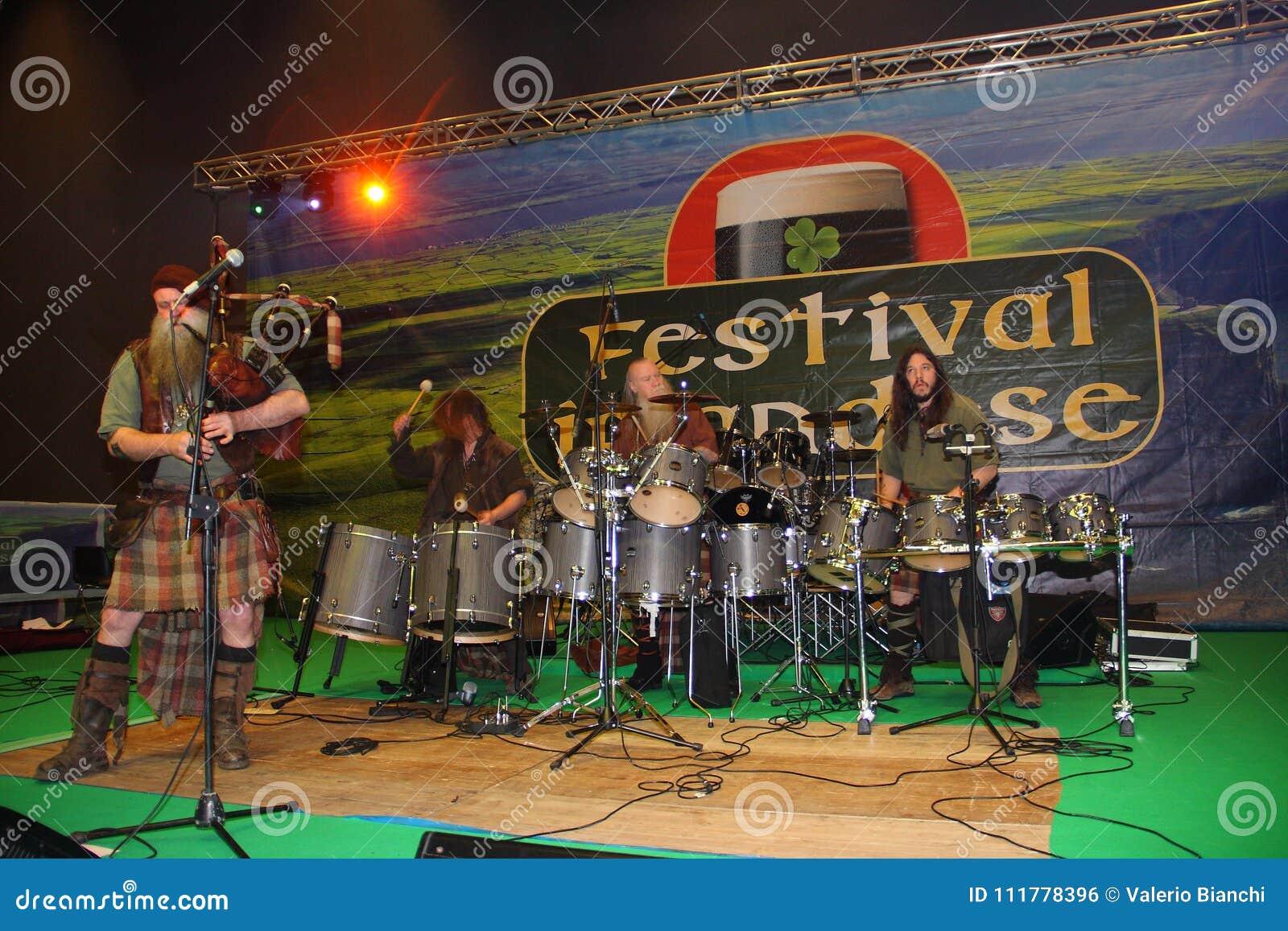 The Celtic music group Saor Patrol