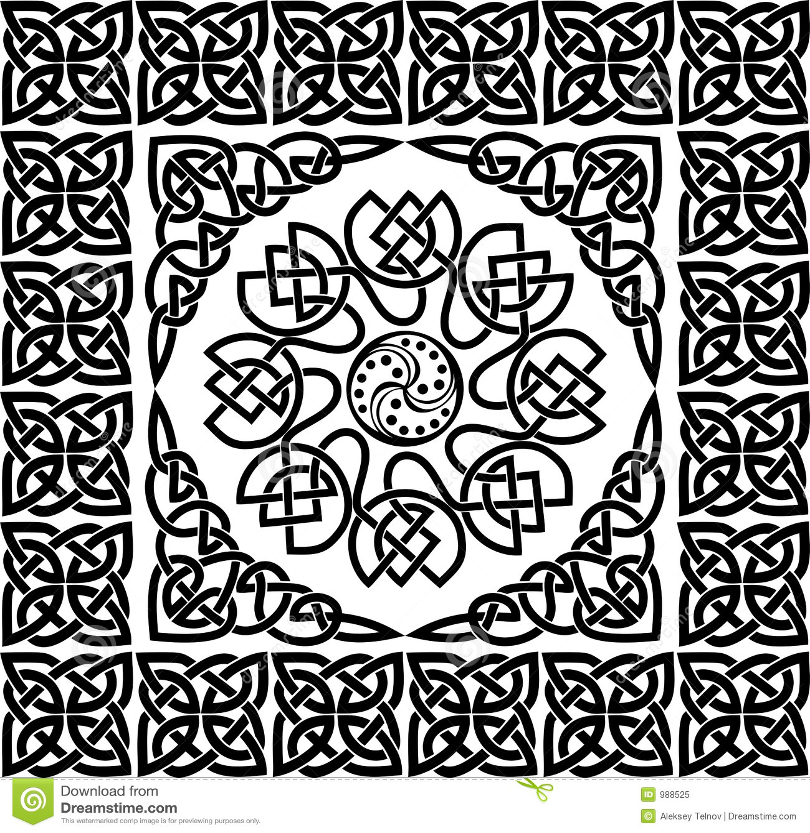 Celtic ornament, vector
