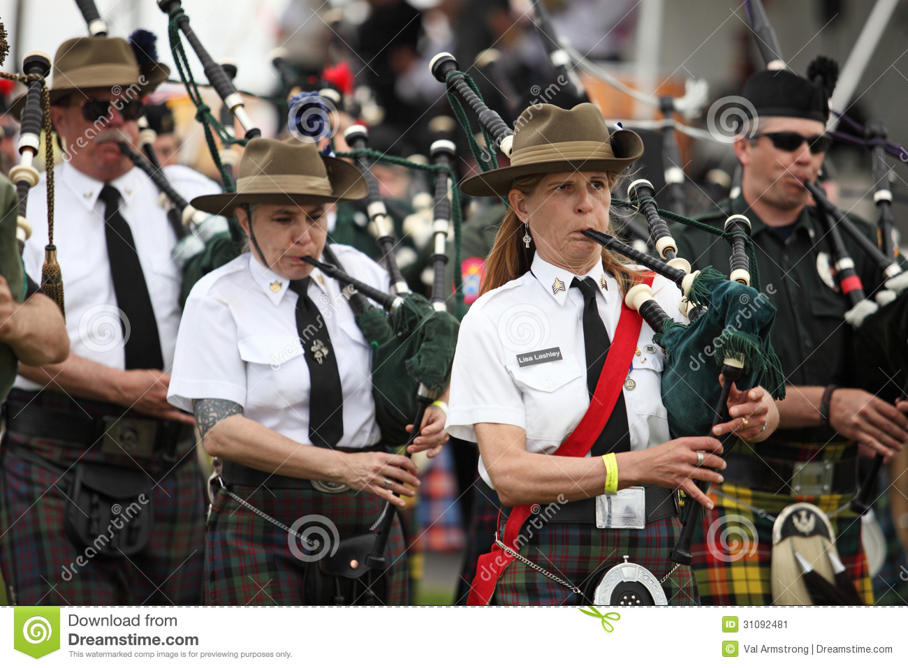 Celtic Piper editorial photo  Image of musicians, march