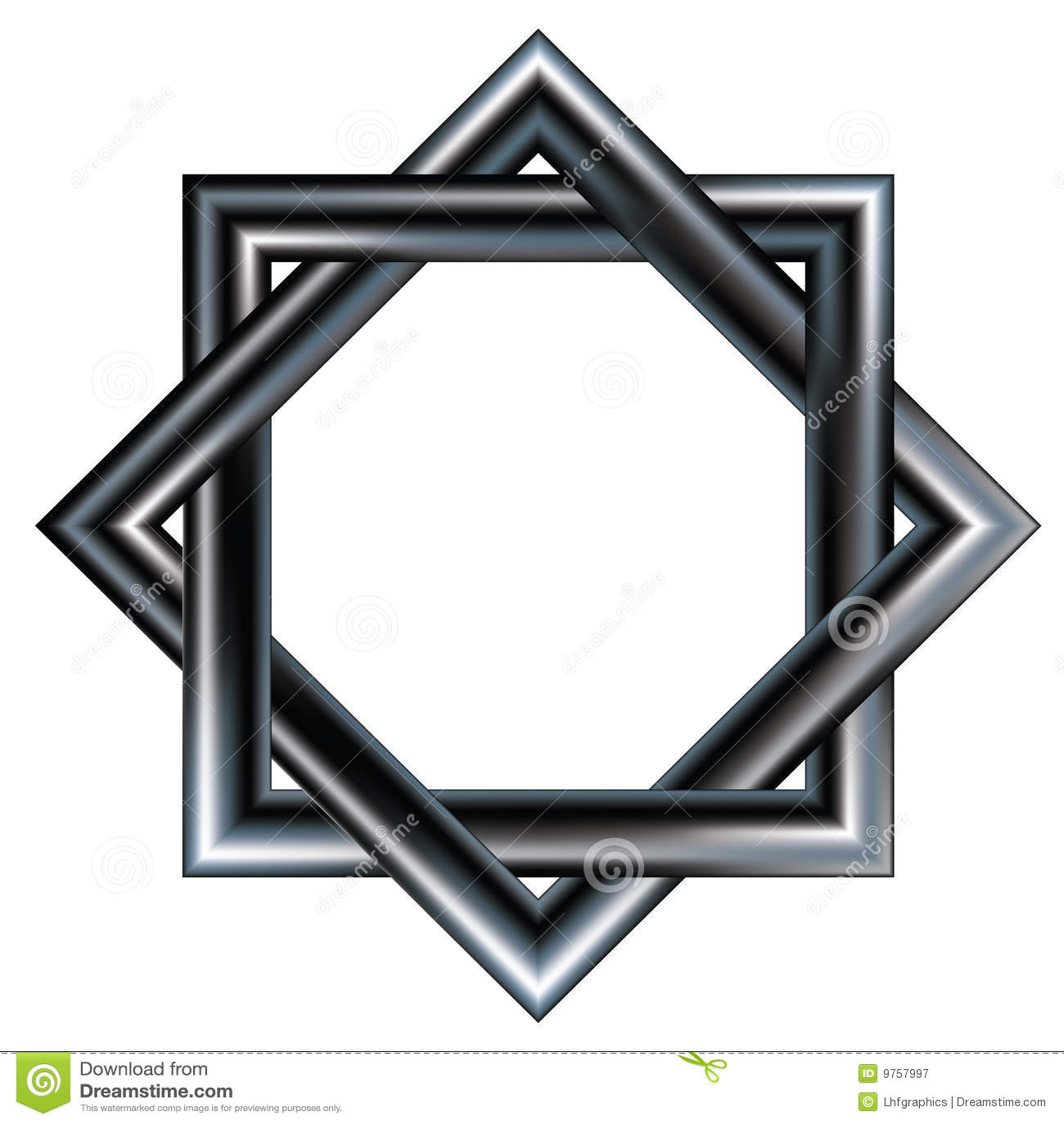 Celtic star pattern of two interlocking squares stock vector celtic star pattern of two interlocking squares buycottarizona