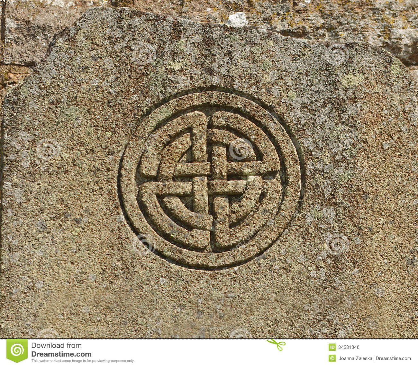 Celtic Symbol Stock Photo - Image: 34581340