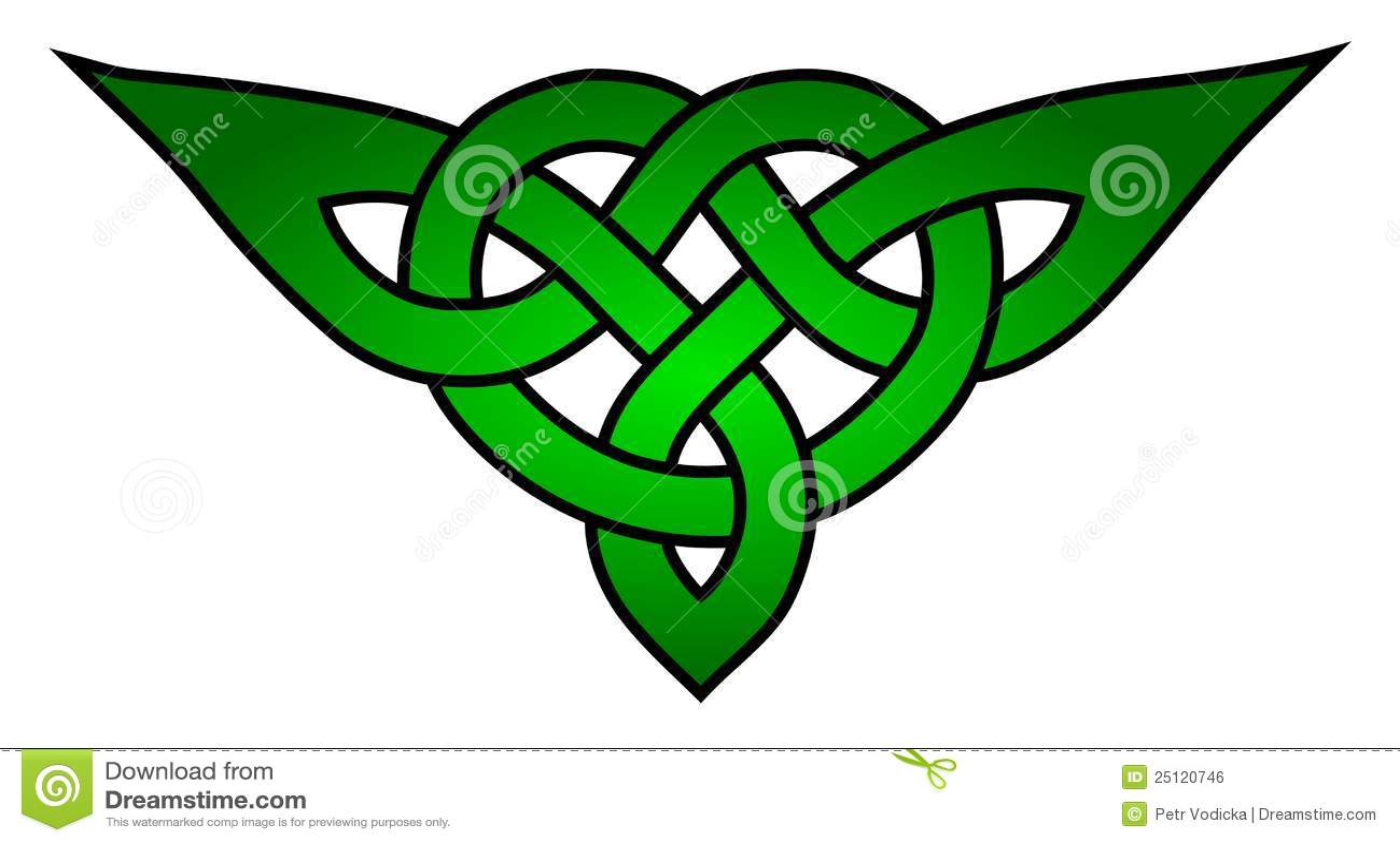 Celtic Triquetra Knot Stock Illustration Illustration Of Symbol