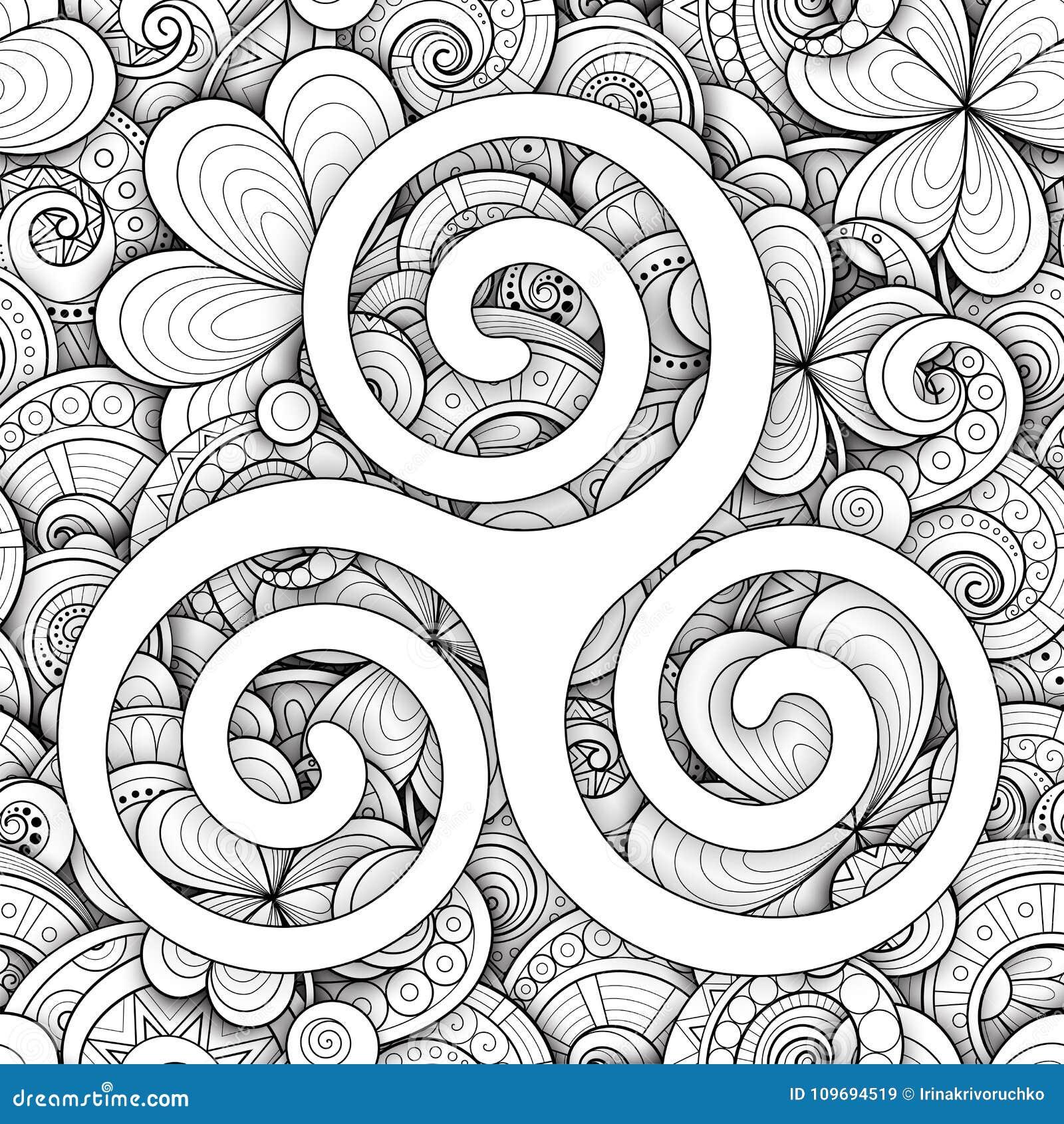 Celtic triskele symbol spiral sign stock vector illustration of celtic triskele symbol spiral sign buycottarizona Images