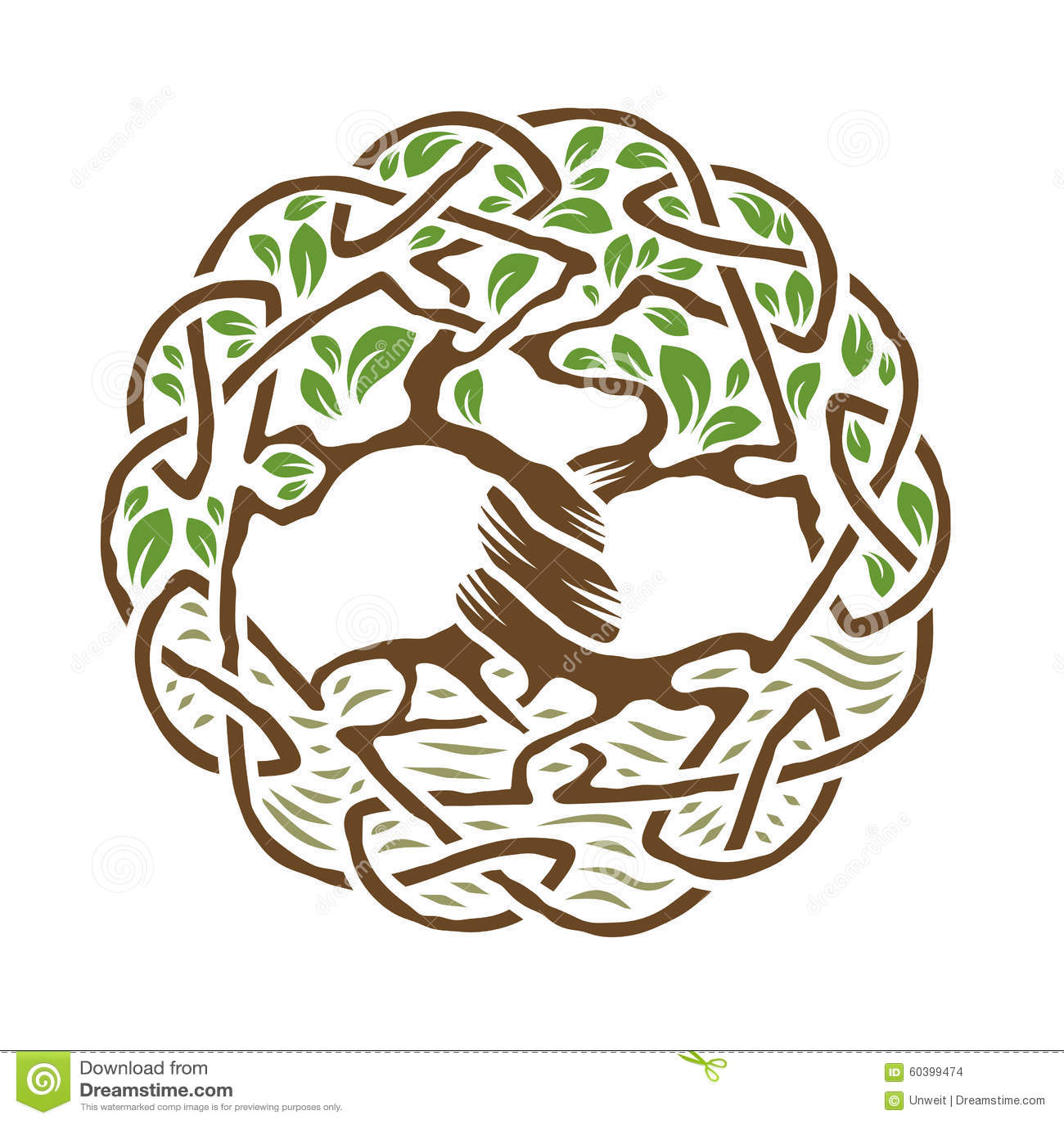 Celtycki drzewo życie