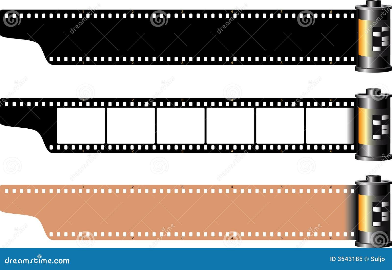 Celuloide ilustración del vector. Ilustración de camera - 3543185