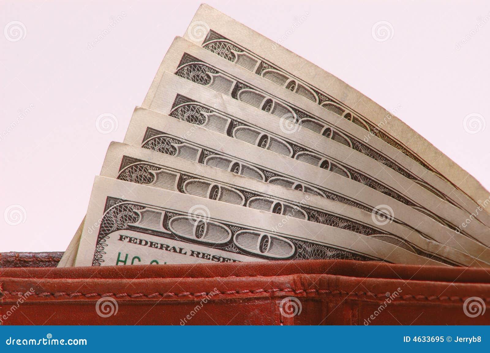 Cem contas de dólar na carteira