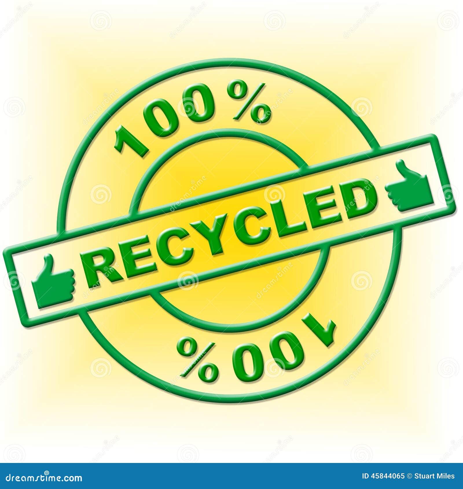 Cem por cento reciclados indicam vão verde e Absolute