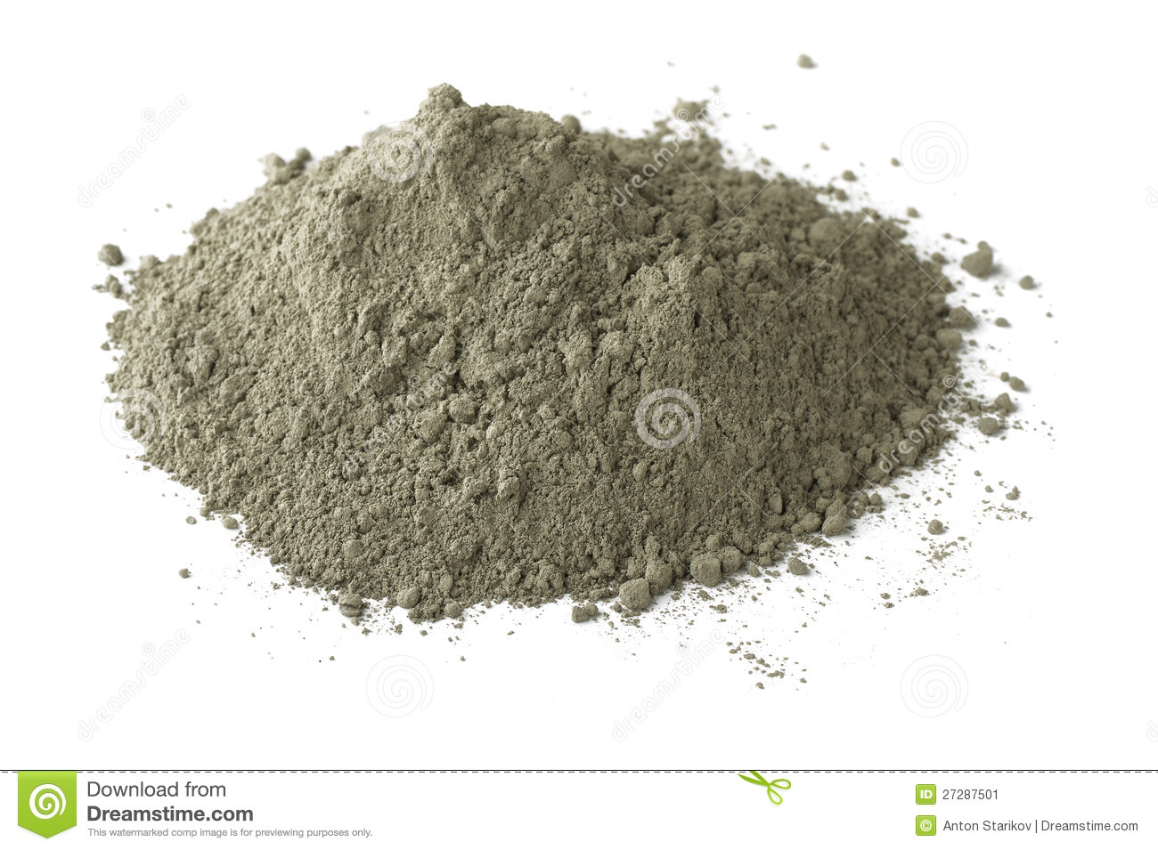 Gray Portland Cement : Cement stock image of industry ingredient basic
