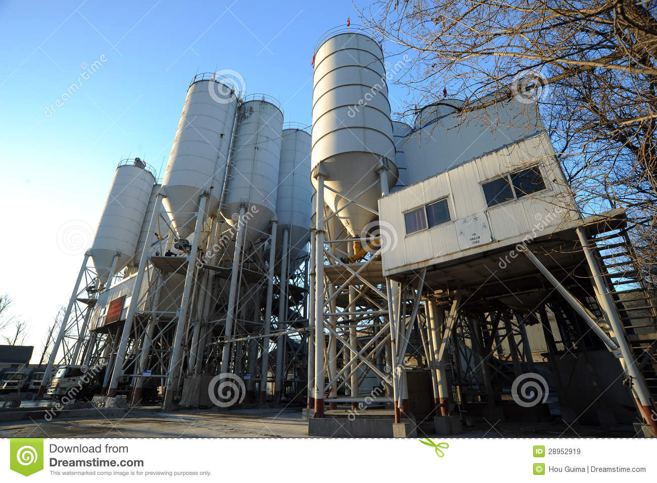 Cement Manufacturing Plants United States : Cement factory royalty free stock images image