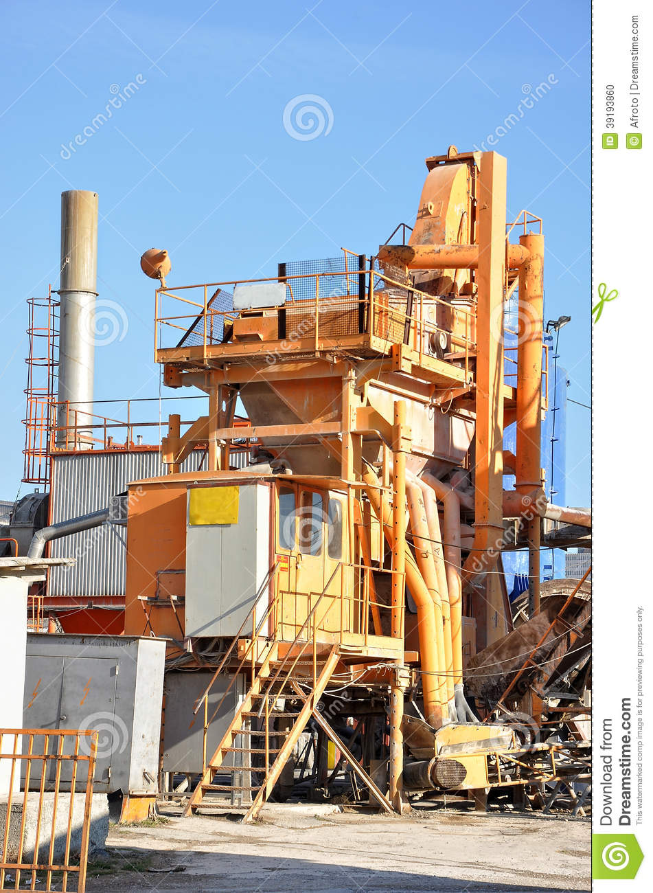 Cement Factory Stock Photo. Image Of Factory, Process