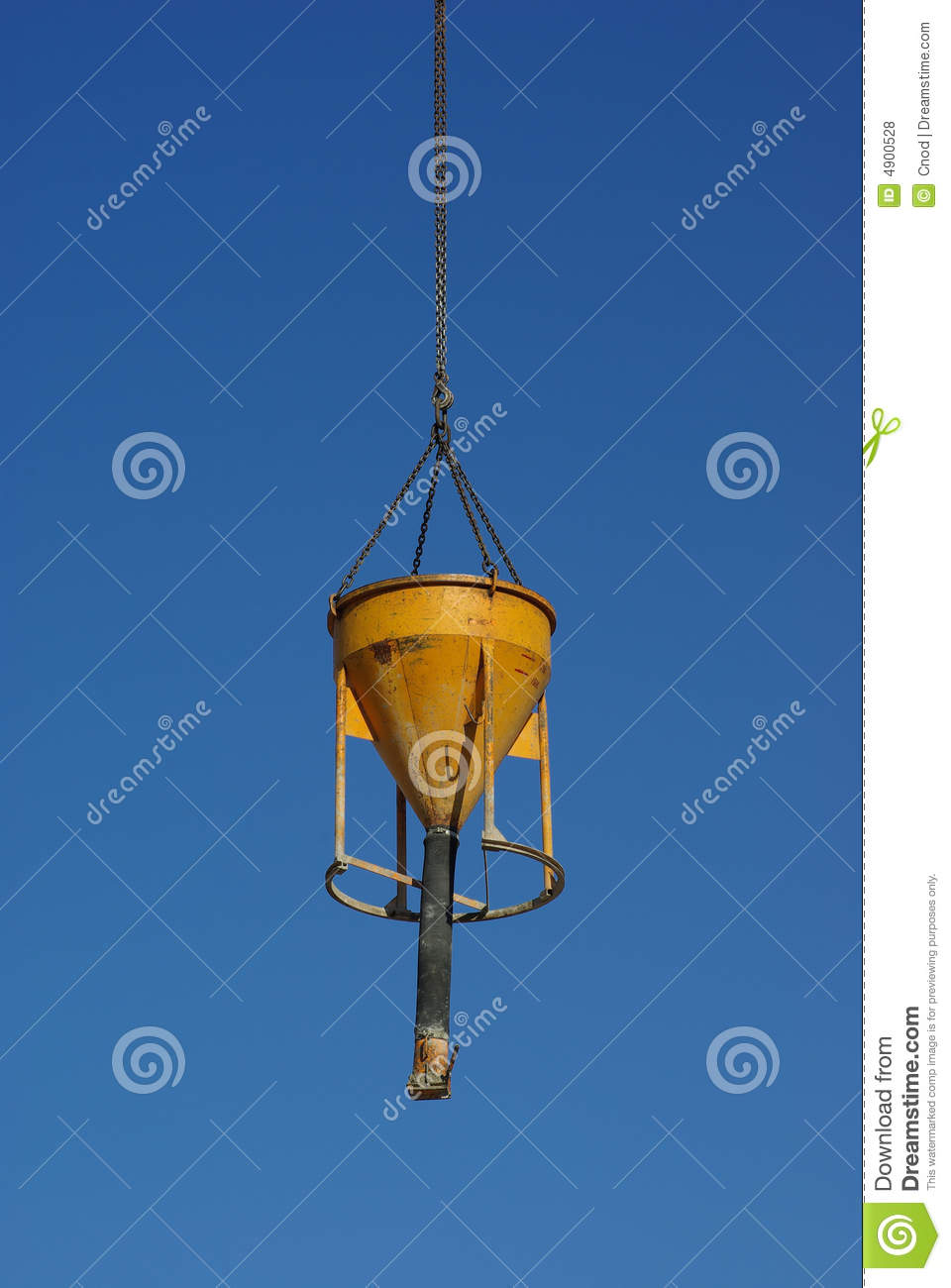 Cement lifter stock photo  Image of hang, chain, lifter - 4900528