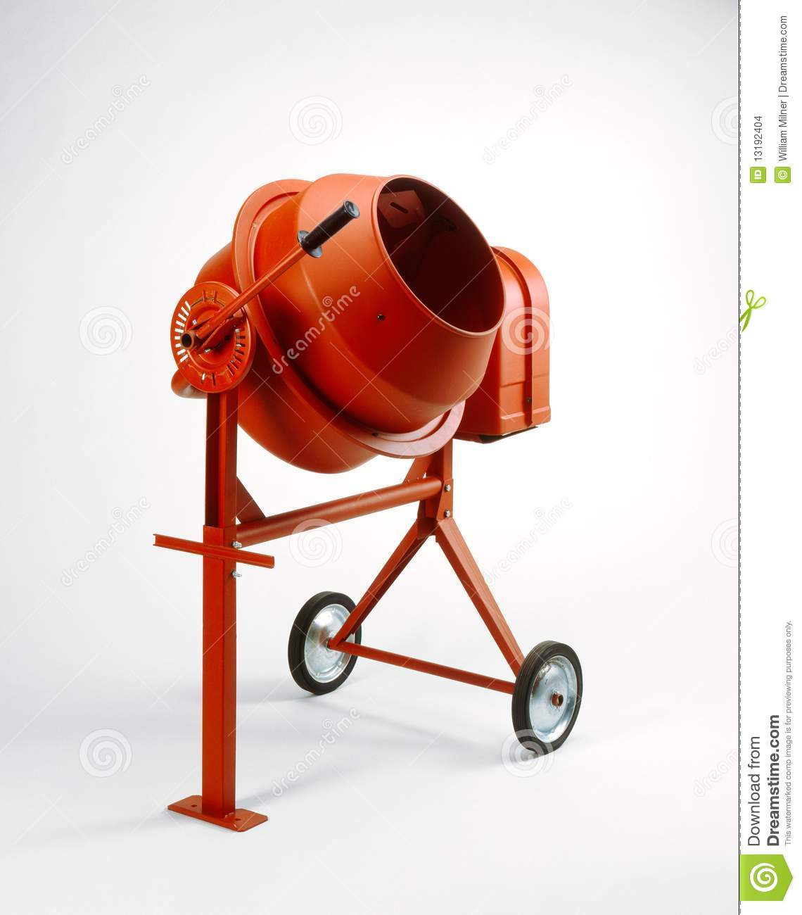 Concrete Mixing Animation : Cement mixer stock images image