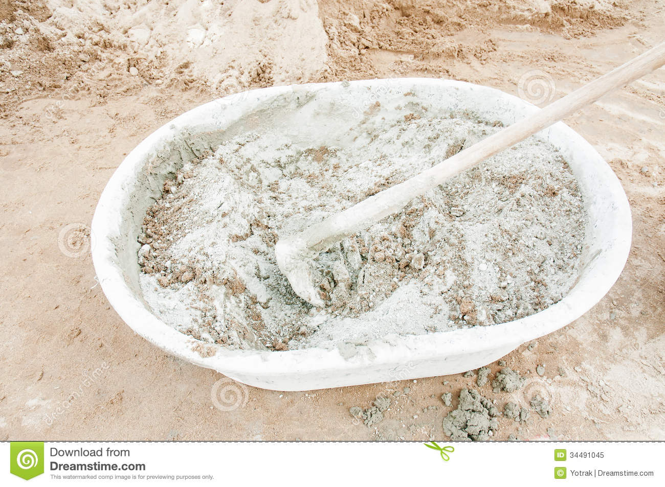 Gray Portland Cement : Cement royalty free stock photo image
