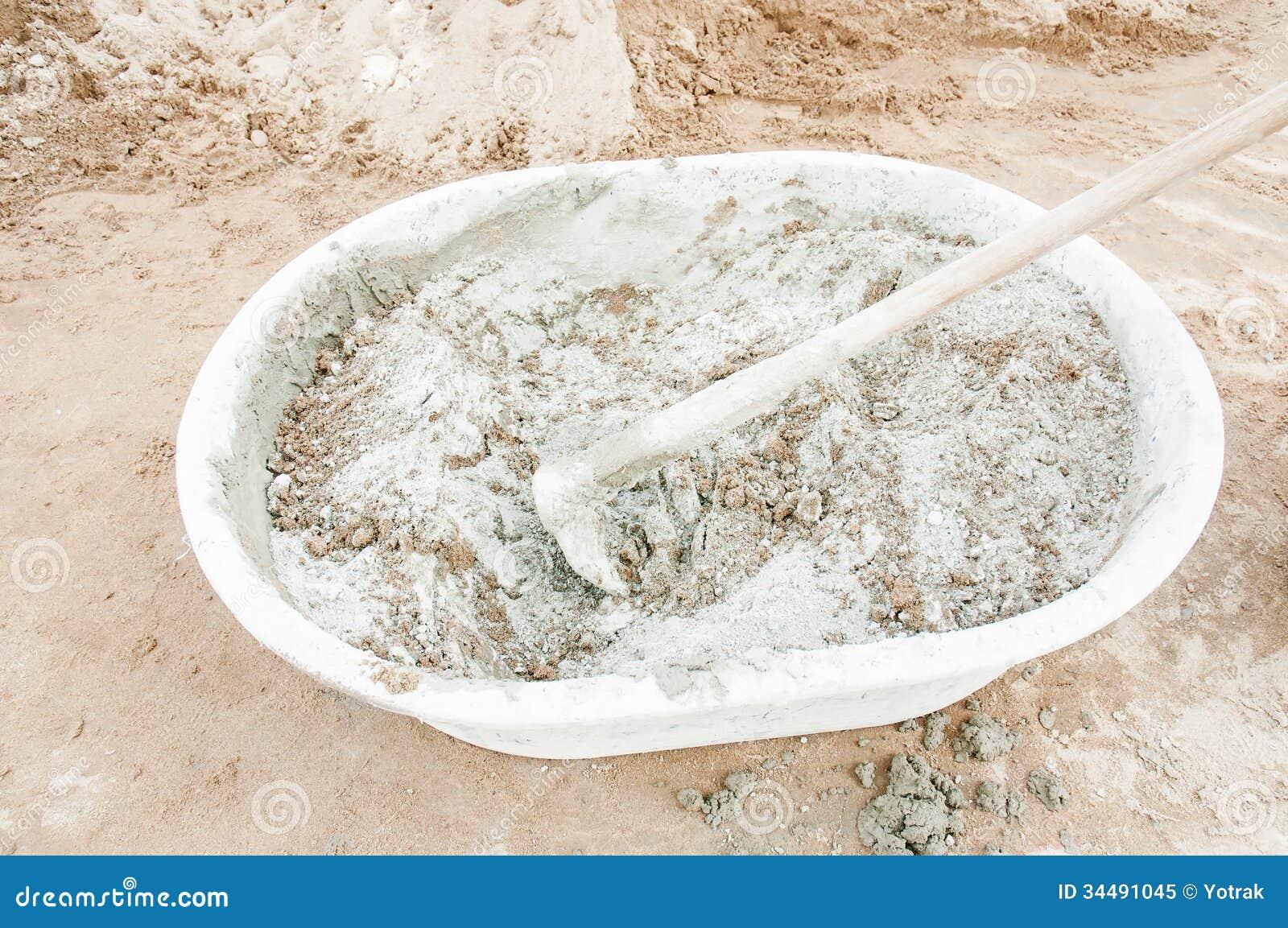 Portland Cement Grey : Cement stock image of jobs bunker contracting