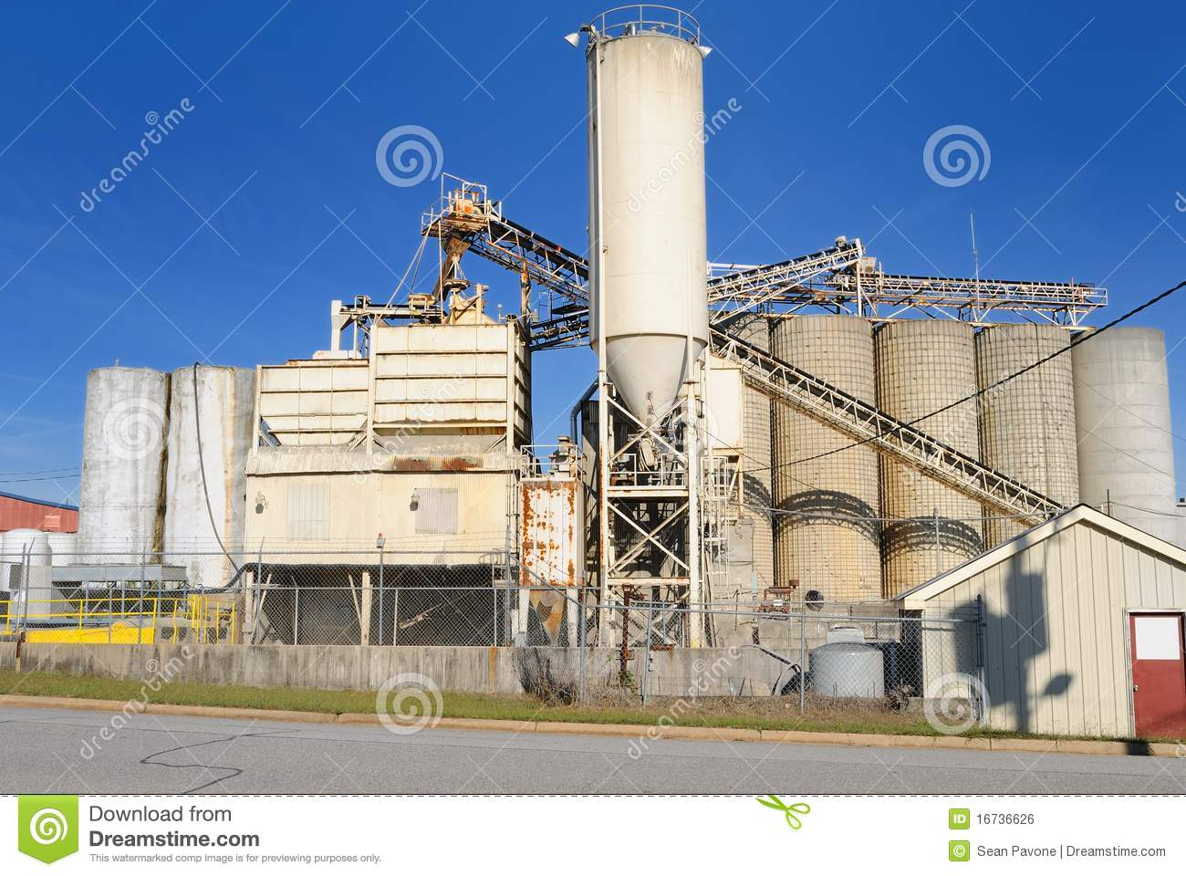 Cement Manufacturing Plants United States : Cement plant royalty free stock image