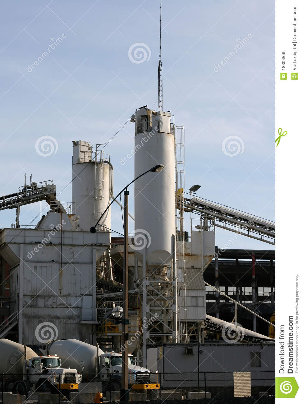 Cement Manufacturing Plants United States : Cement plant royalty free stock images image