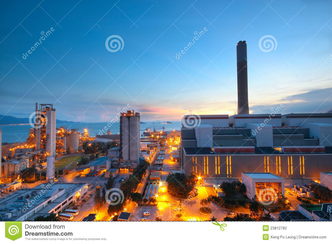 Cement Plant and power sation
