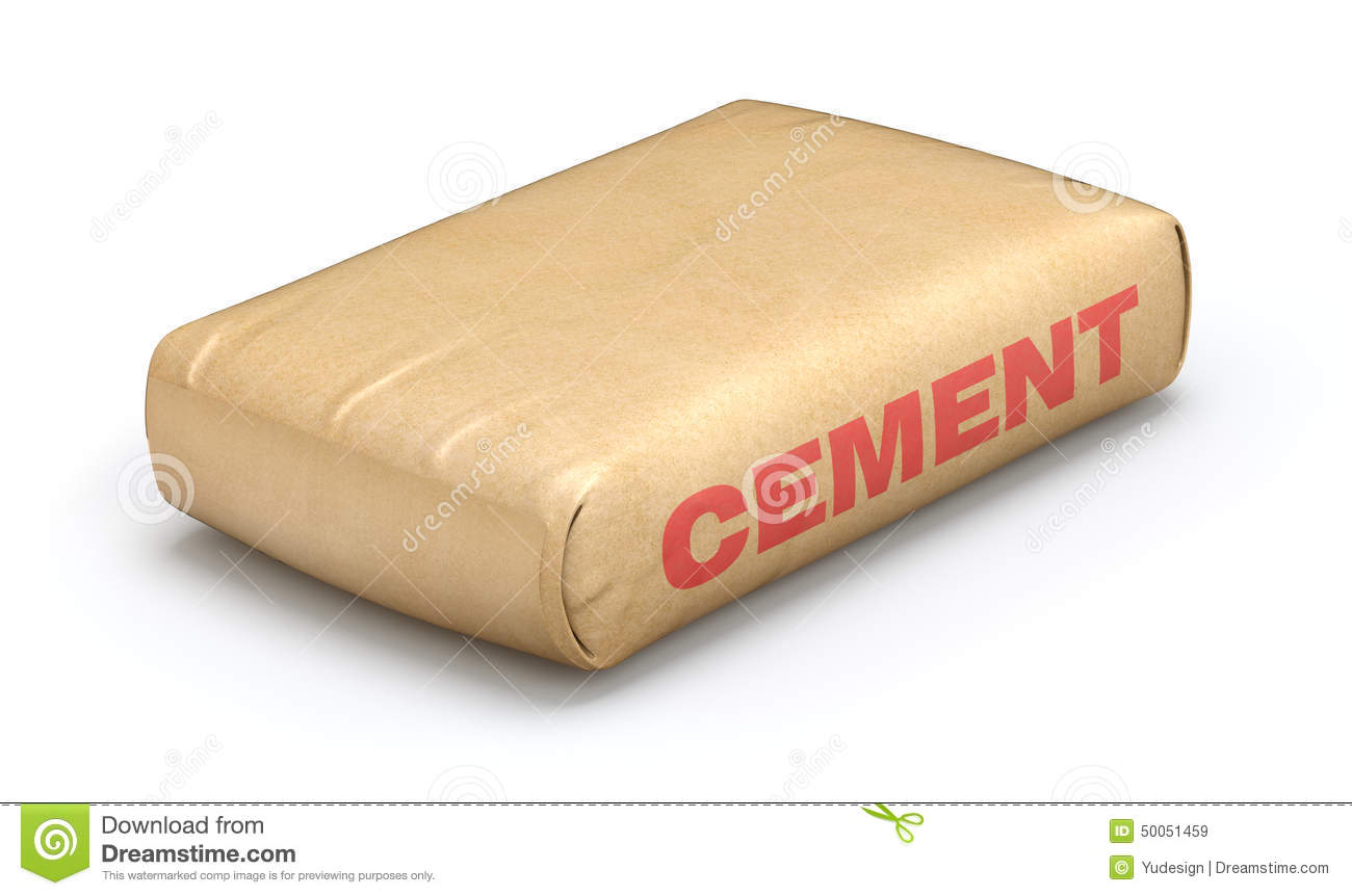 Cement Sack Stock Illustration Image 50051459