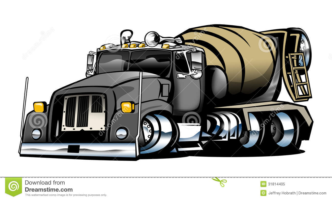 Royalty Free Stock Photo Cement Truck Cool Looking Great Stance Tough Ready To Go To Work Image31814405 on Cement Pump Truck