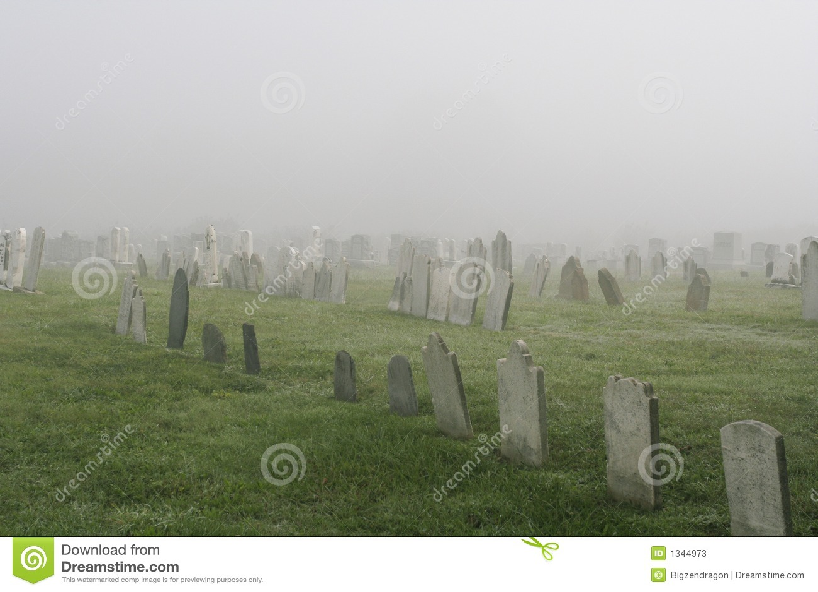 Cementerio brumoso