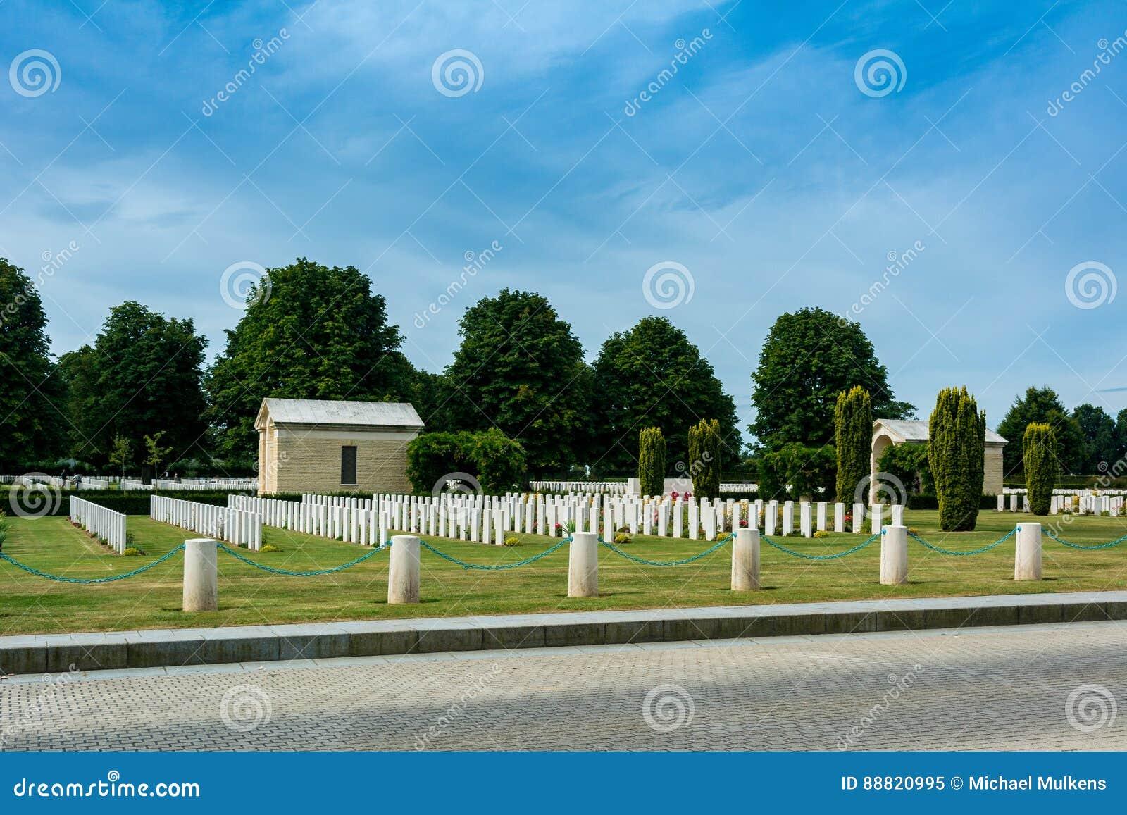 Cementerio de la guerra de Bayeux