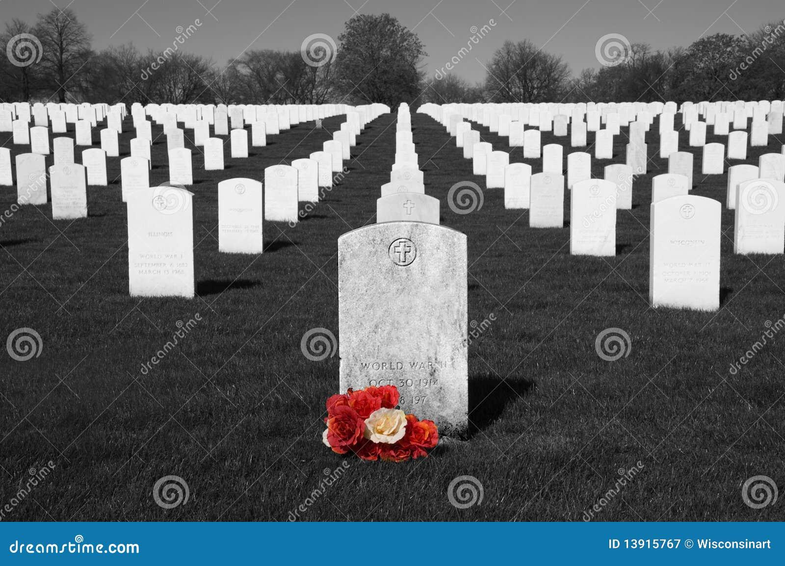 Cementerio de los veteranos, Memorial Day, festividad nacional